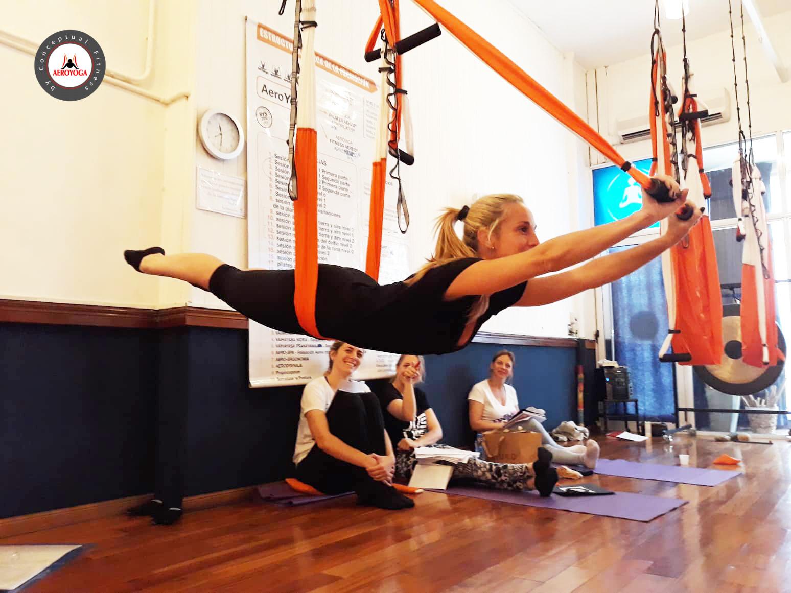 Continúa en Argentina el AeroYoga ® Teacher Training, Profesorado Yoga Aéreo