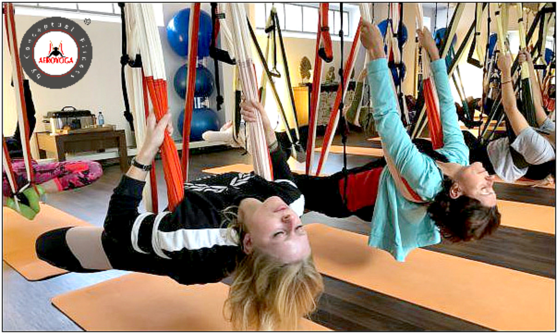 Yoga Aérien: Méthode AeroYoga® Dans la Presse