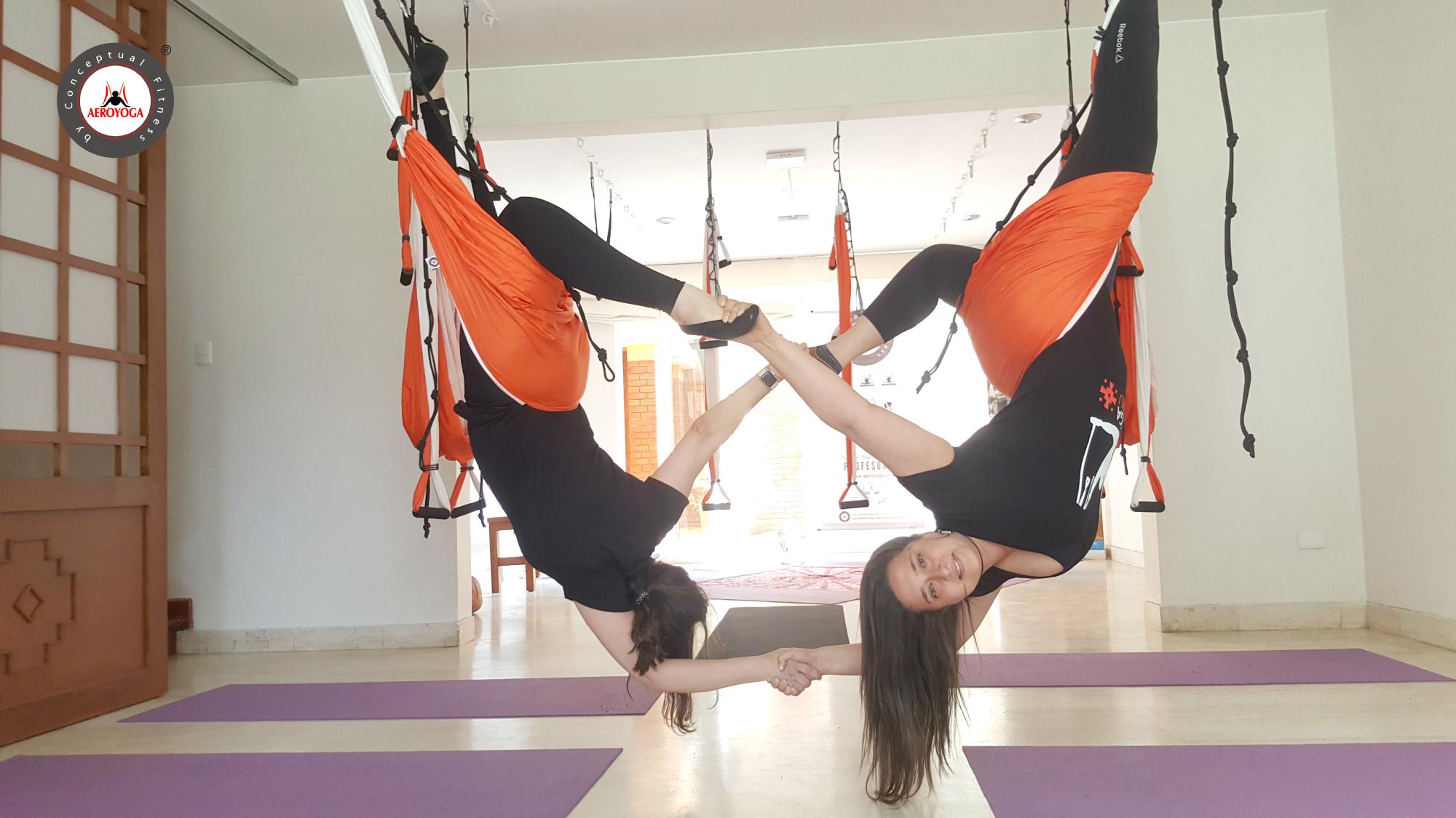 Yoga Aéreo: Finalizó la 3a Certificación AeroYoga ® de Perú en Lima