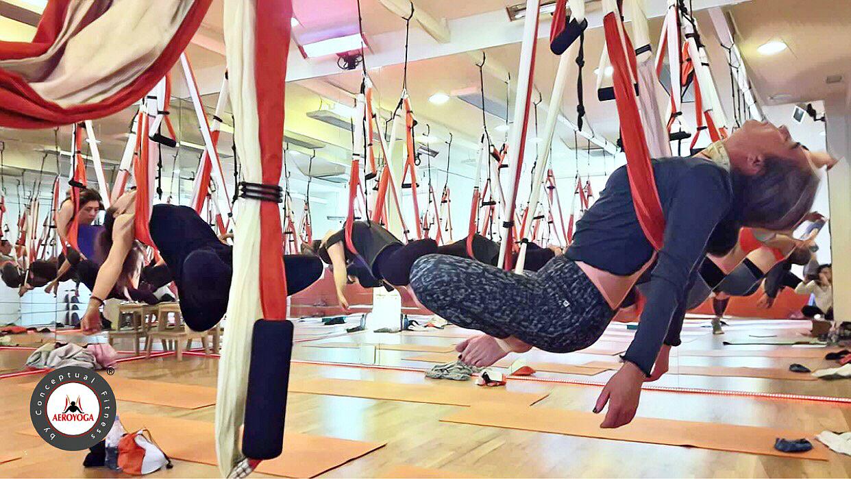 Airyoga, Descubre el Album 2 del Nuevo Teacher Training AeroYoga ® International en Madrid