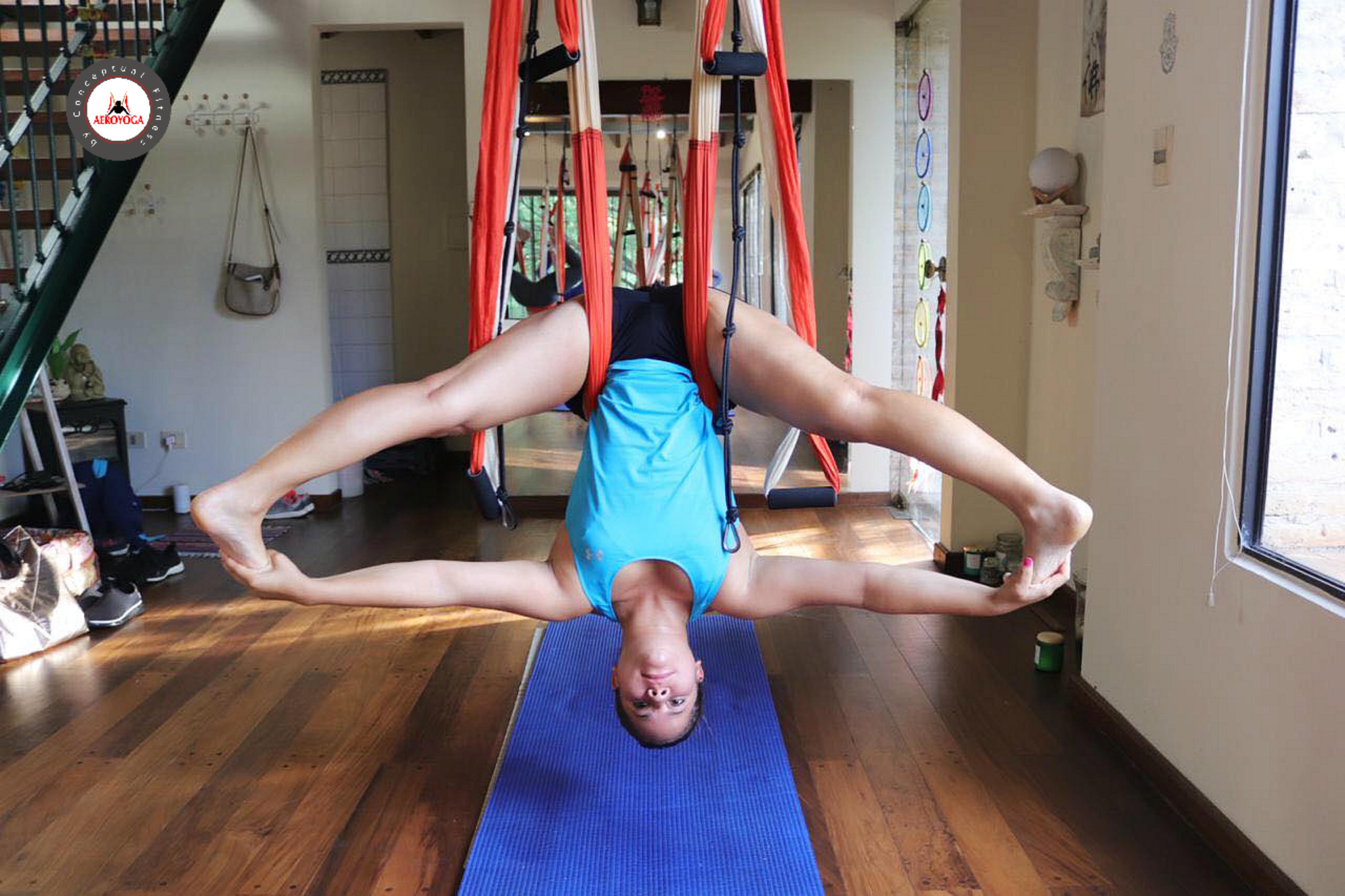 Qué es el AeroYoga ® Acrobático, Yoga Aéreo, AirYoga