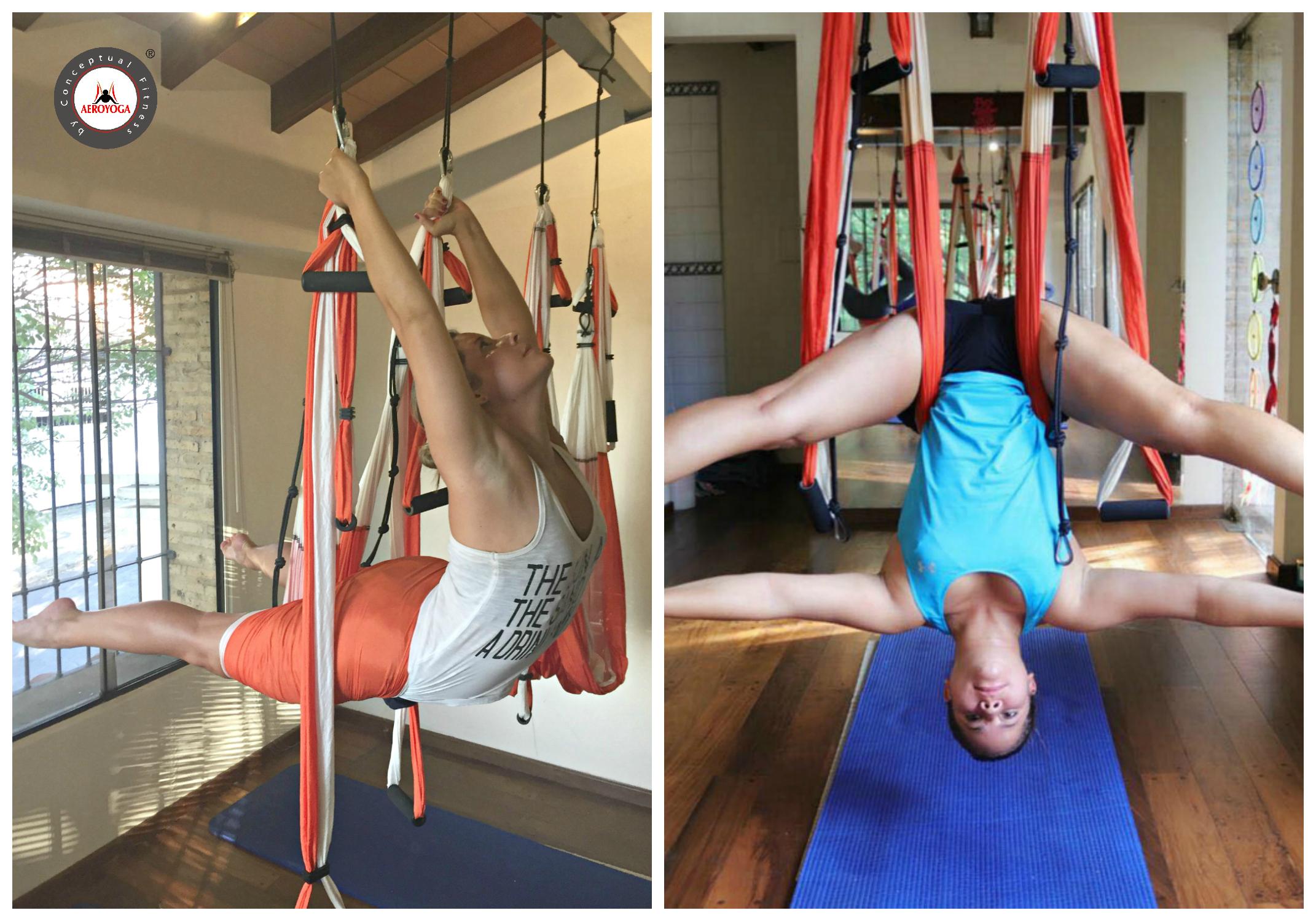 Aerial Yoga : Discover the Acrobatic AeroYoga ®
