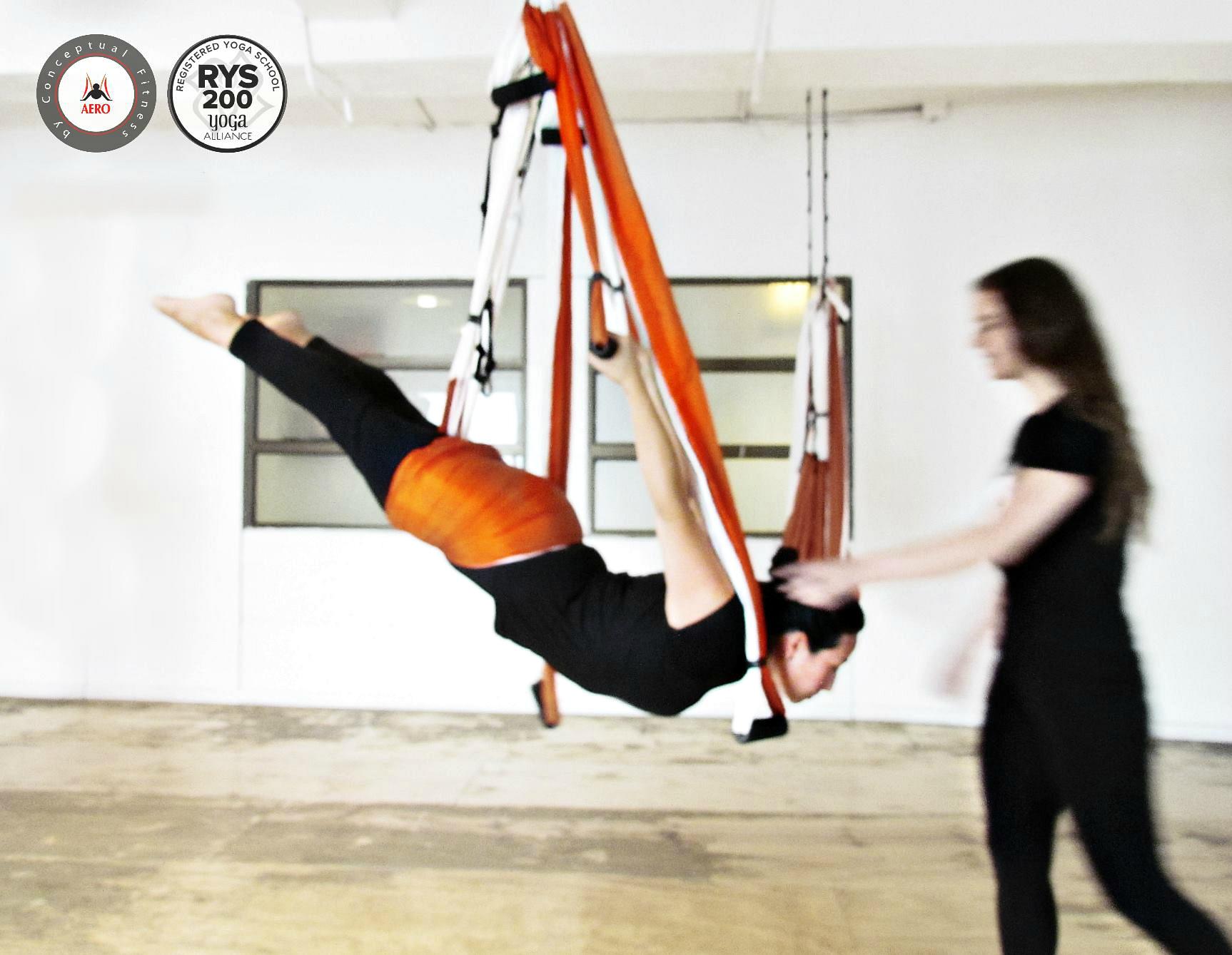 Yoga Aéreo, Descubre el Programa Nuevos Cursos AeroYoga ® International