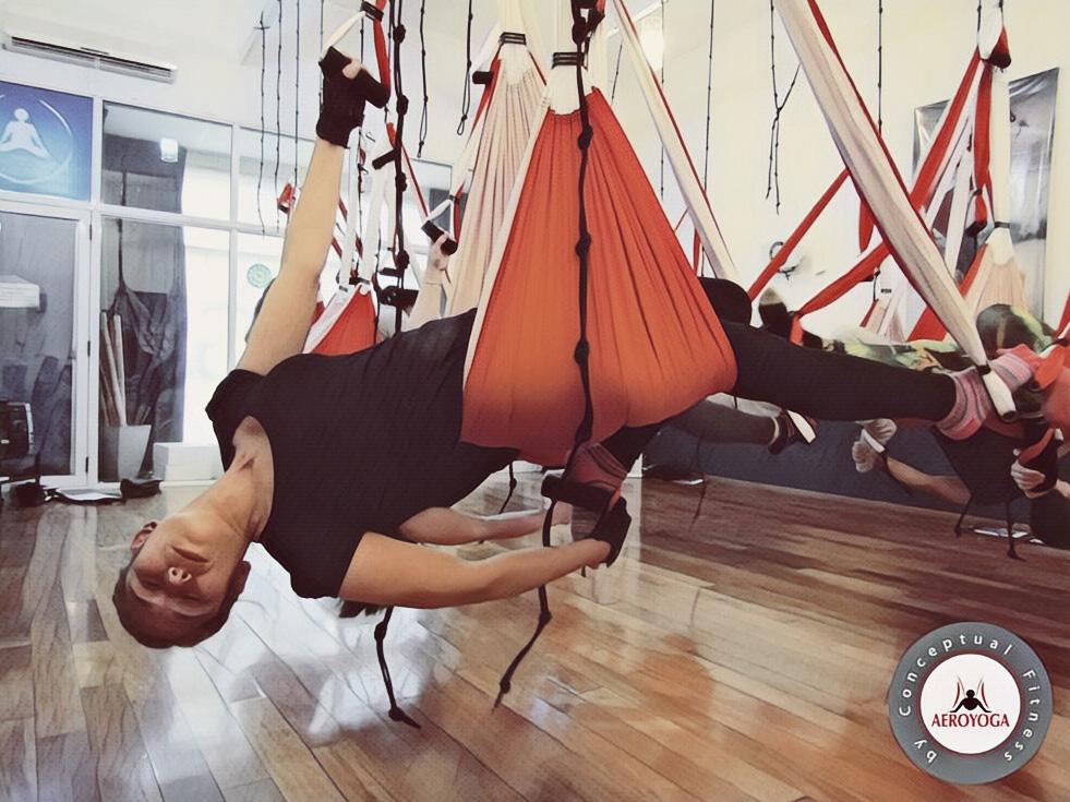 Yoga Aéreo: Ya Llega la Nueva Formación Profesores AeroYoga ® a la Argentina!