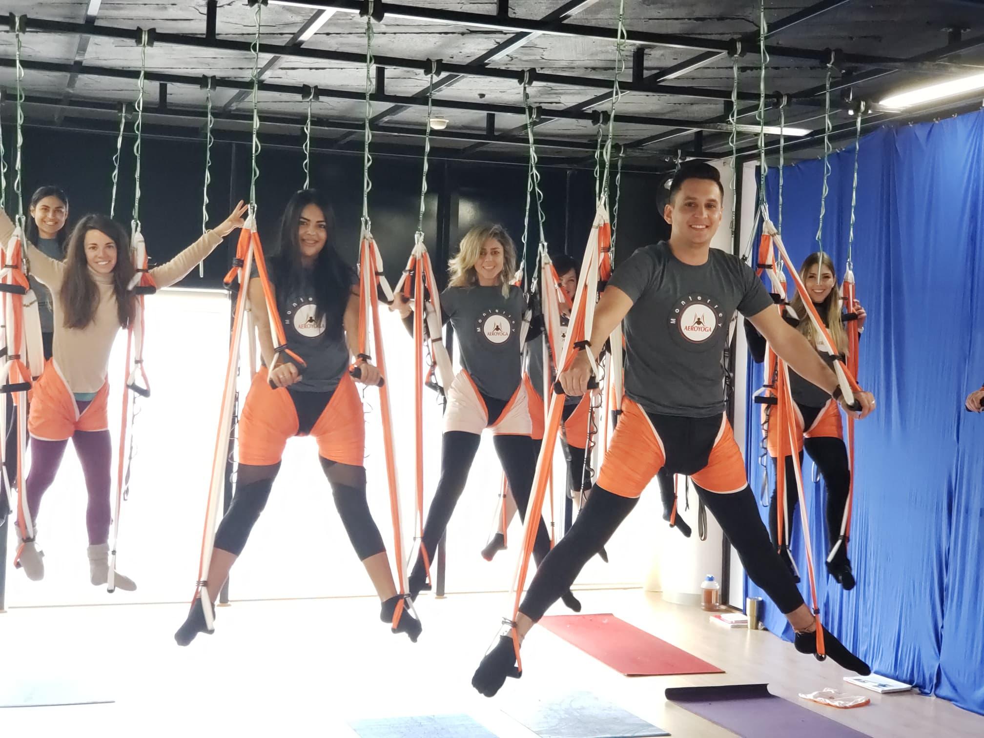 Yoga Aéreo México: Culminó con Éxito Nueva Formación Profesores Monterrey
