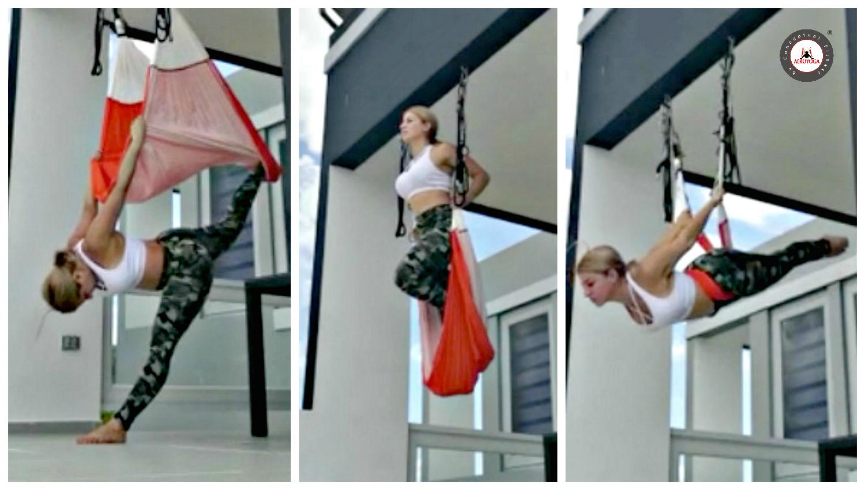 Clases Yoga Aéreo: Una Sesión Completa de AeroYoga ® Acrobático, Vídeo y Beneficios