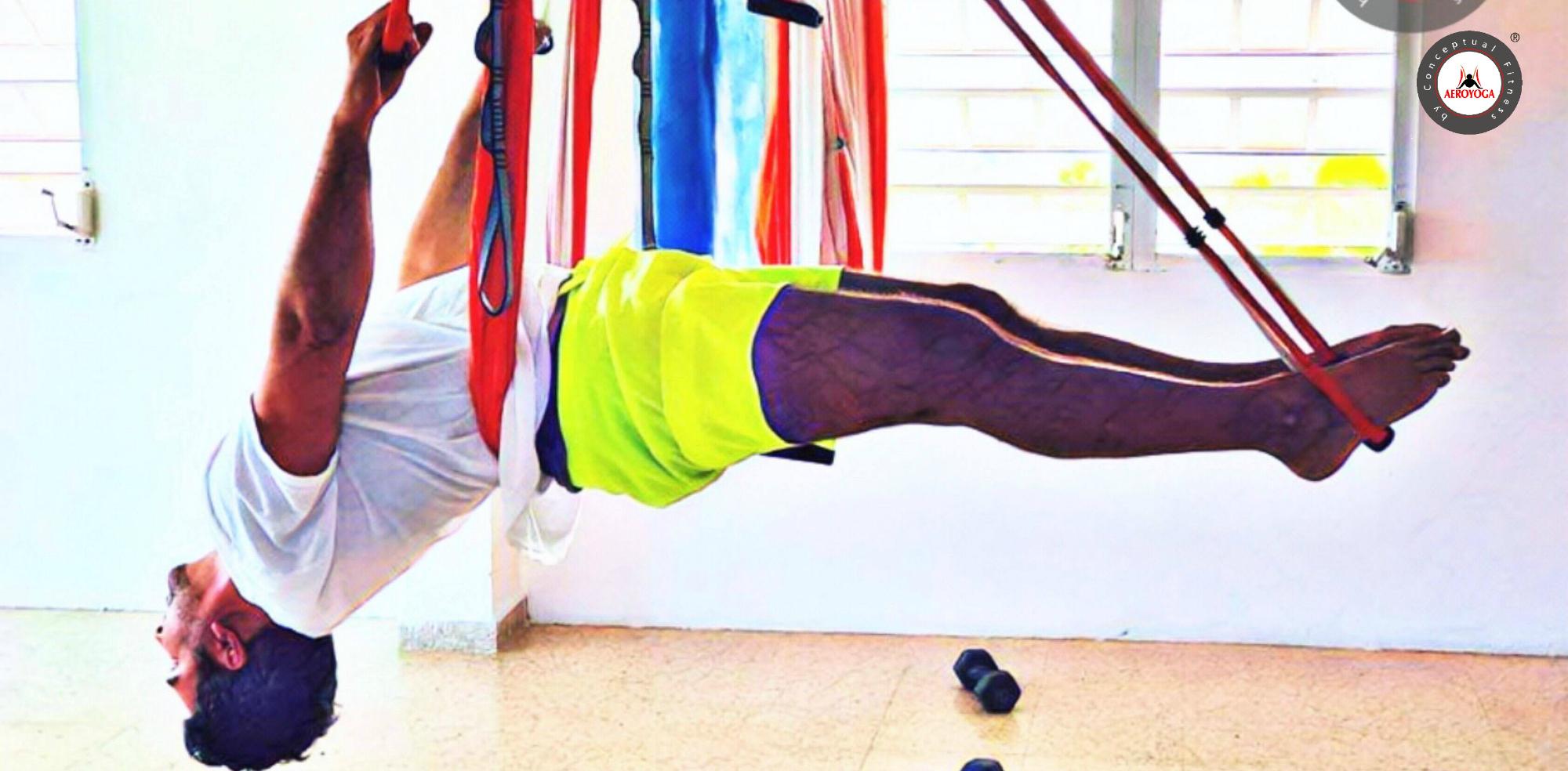 Yoga Aérea; Practicar AeroYoga® Te da Resultados, Descúbrelo con Rafael Martinez