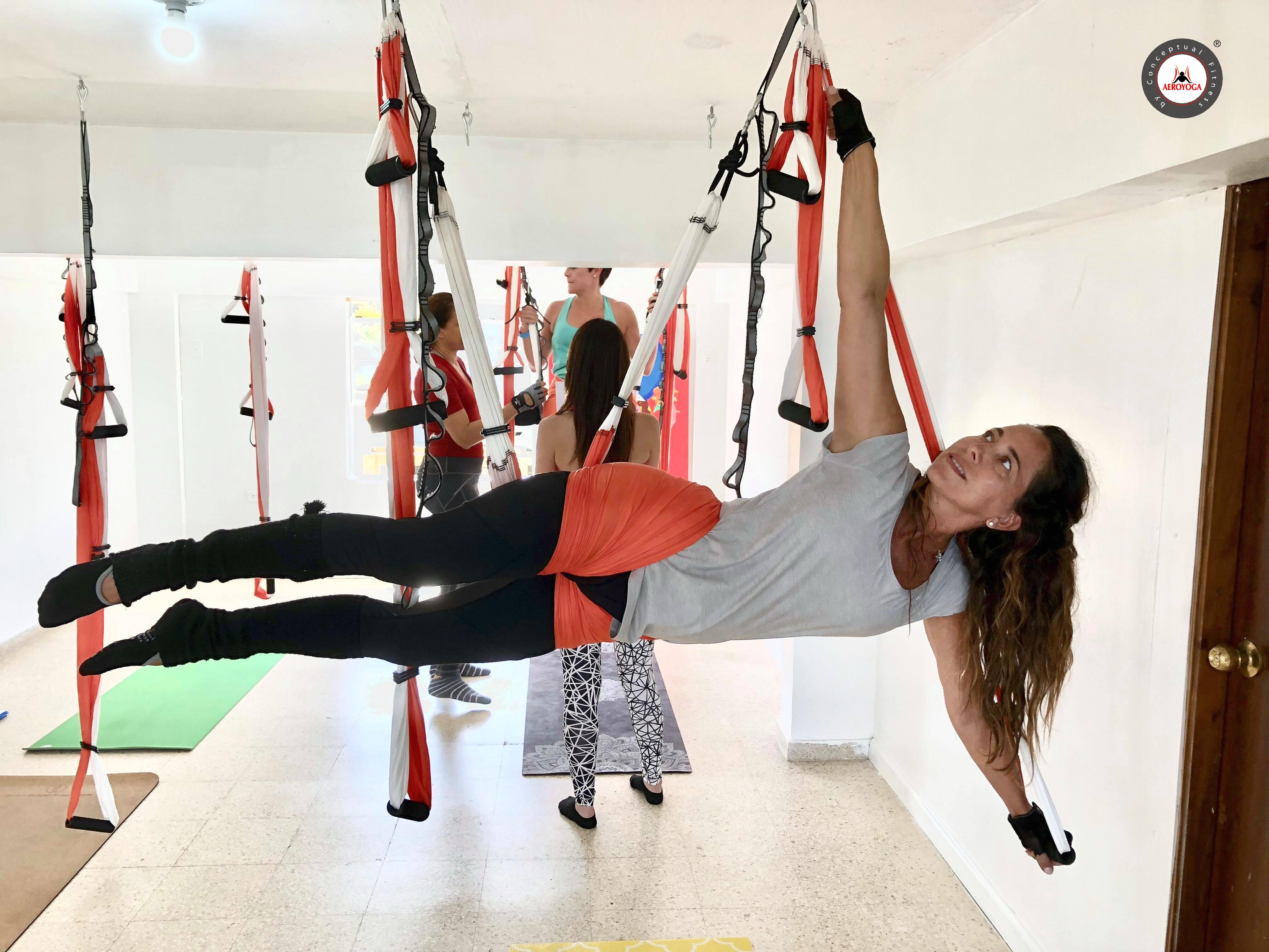 Aerial Yoga Teacher Training Puerto Rico, Terminó un Nuevo Curso AeroYoga ®!