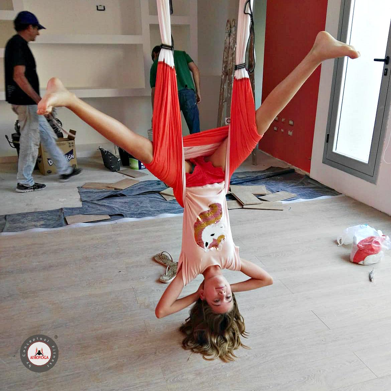 Yoga Aéreo: Inaugura en Buenos Aires un Nuevo Centro Oficial AeroYoga ® International