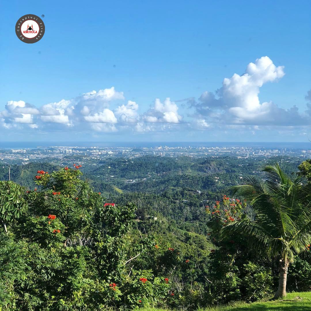 Yoga Aérea: Descubre Ahora las Bellas Vistas Desde AeroYoga® Institute Puerto Rico!