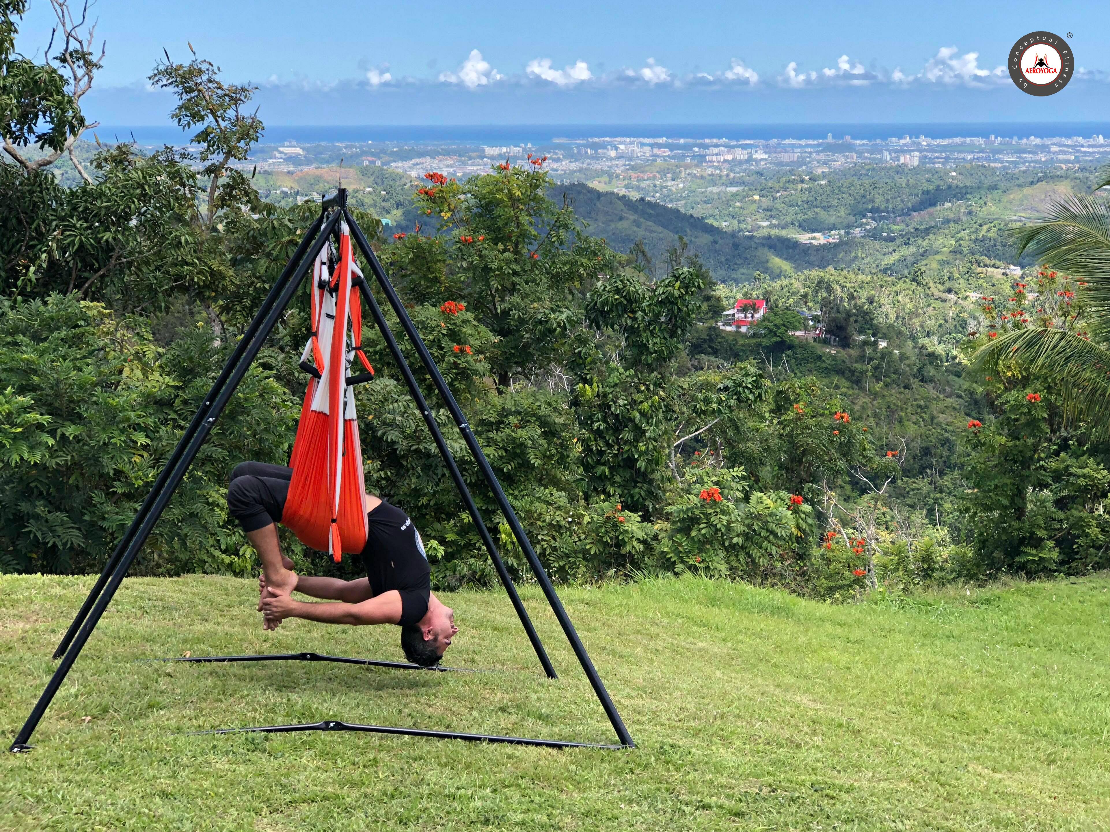 Yoga Aéreo: Práctica del AeroYoga ® al Aire Libre, Salud, Bienestar y Plenitud