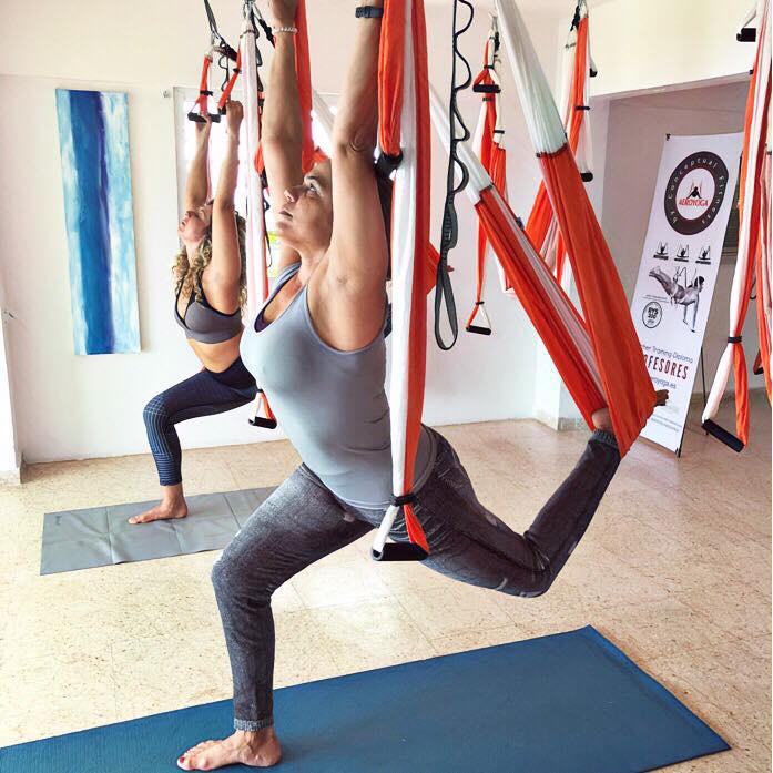 Certificación Yoga Aéreo: Continúa la 3a Formación Aérea Profesores de AeroYoga ® de Puerto Rico