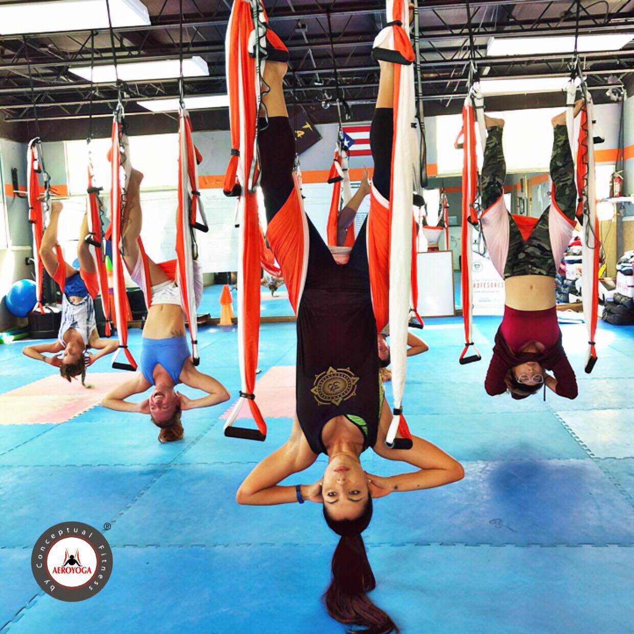 Yoga Aéreo, Descubre Hoy los 3 Tipos de Drenaje que te Aporta el Método AeroYoga ®
