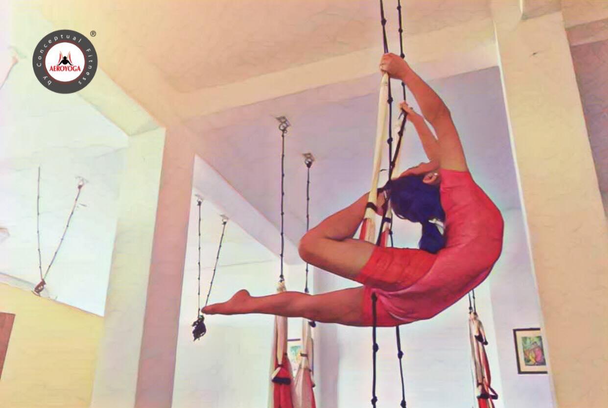 Yoga Aéreo, Descubre el Método AeroYoga ® con Carmen Benitez en Argentina
