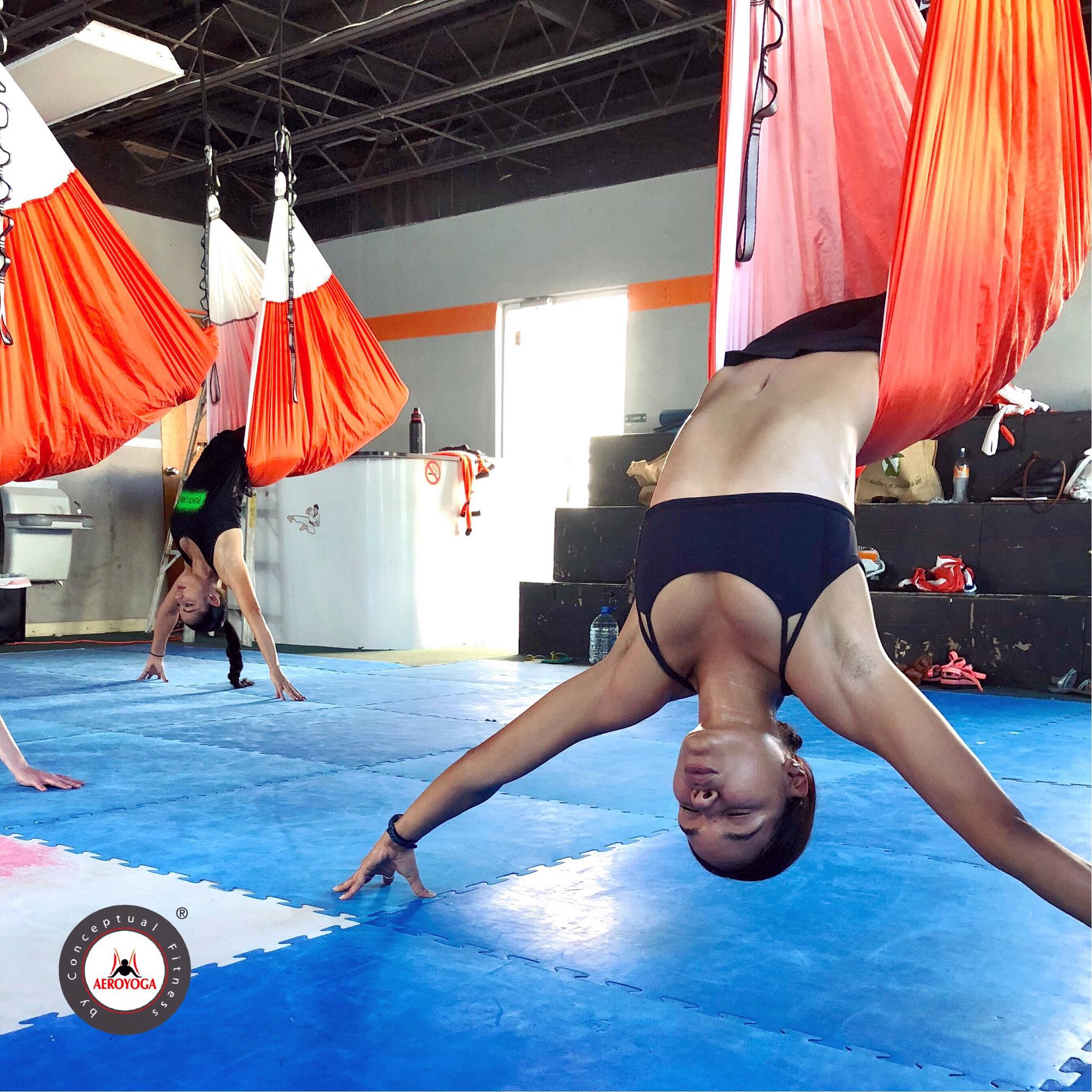 Formación Yoga Aéreo en Puerto Rico con Rafael Martinez, de AeroYoga ® Institute