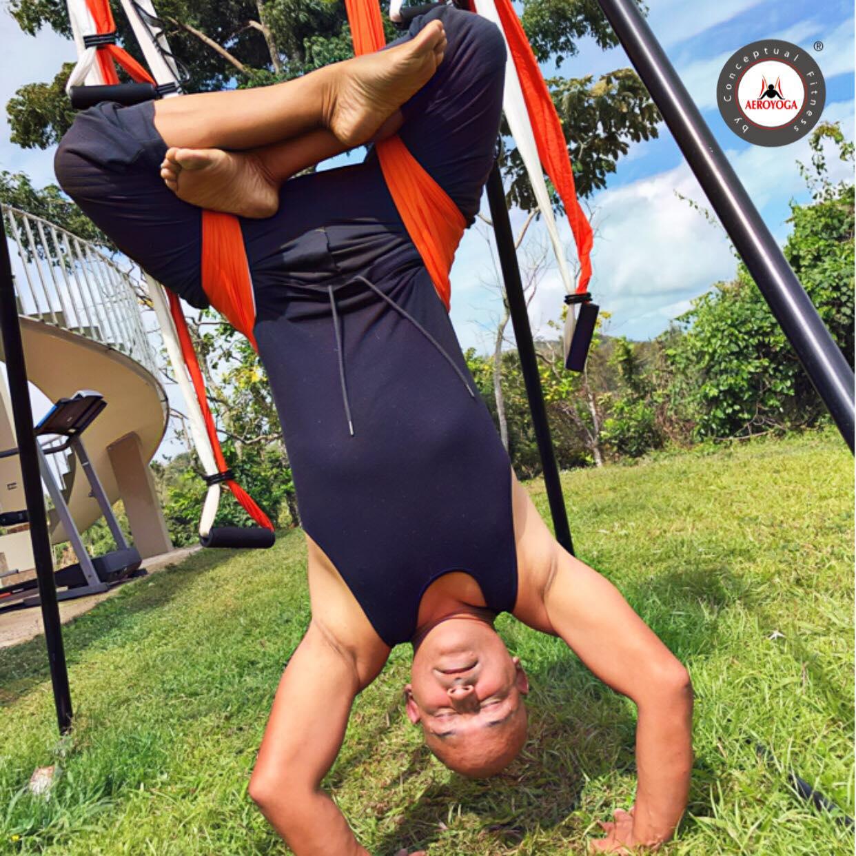 Formación Yoga Aéreo: AeroYoga ® Ayuda para Combatir Estrés y Ansiedad