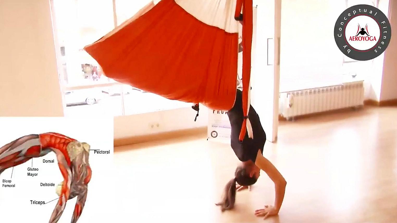 Certificación Yoga Aéreo: Disfruta Hoy del Ejercicio de la Sirena con AeroYoga ® International