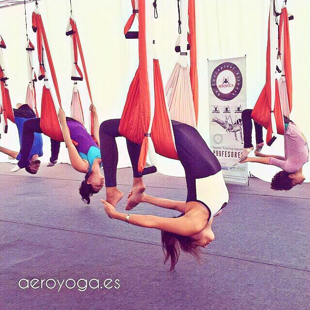Yoga Aéreo, Descubre el AeroYoga ® Acrobático y la Aero Meditación