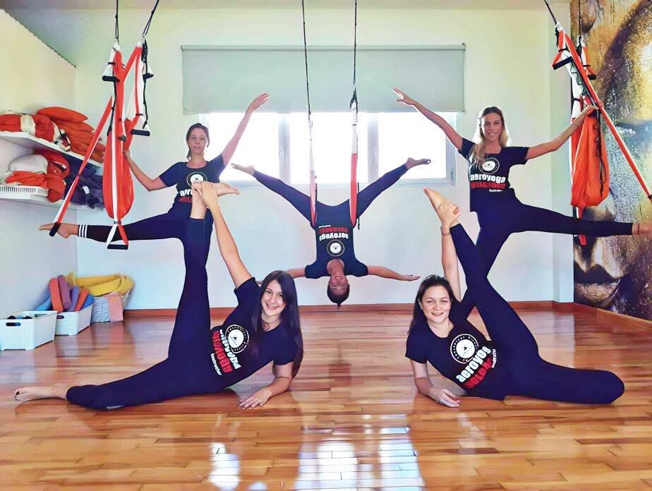 Formación Profesores Yoga Aéreo: Finalizó Una Nueva Certificación Maestros AeroYoga ® en Buenos Aires, Argentina!