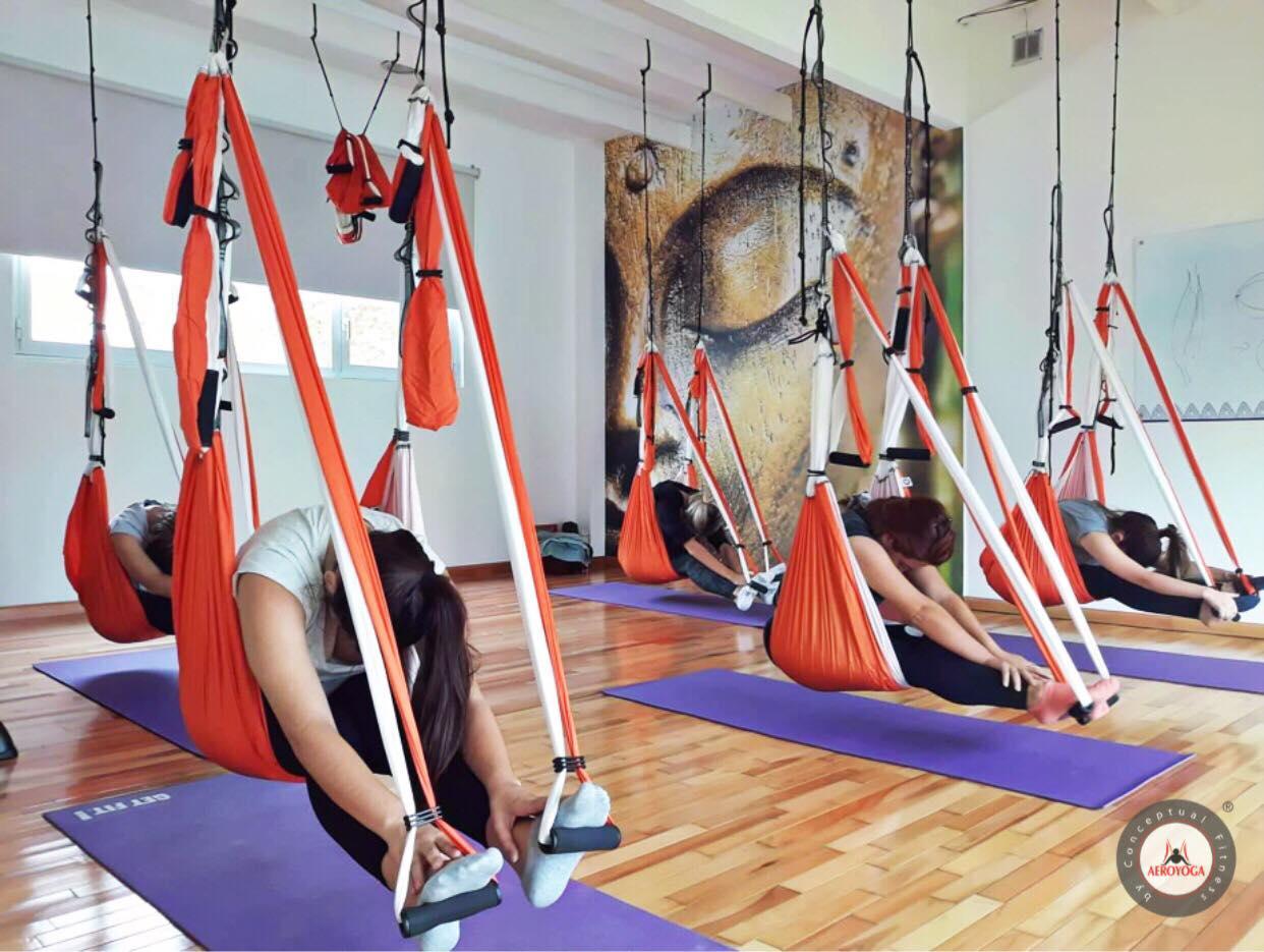Yoga Aéreo, Comienza Hoy la Formación Profesores AeroYoga ® de Argentina Número 23