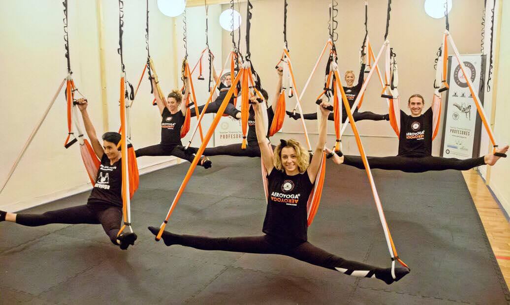 Formación Yoga Aéreo, Nuevo Curso AeroYoga ® en Barcelona!