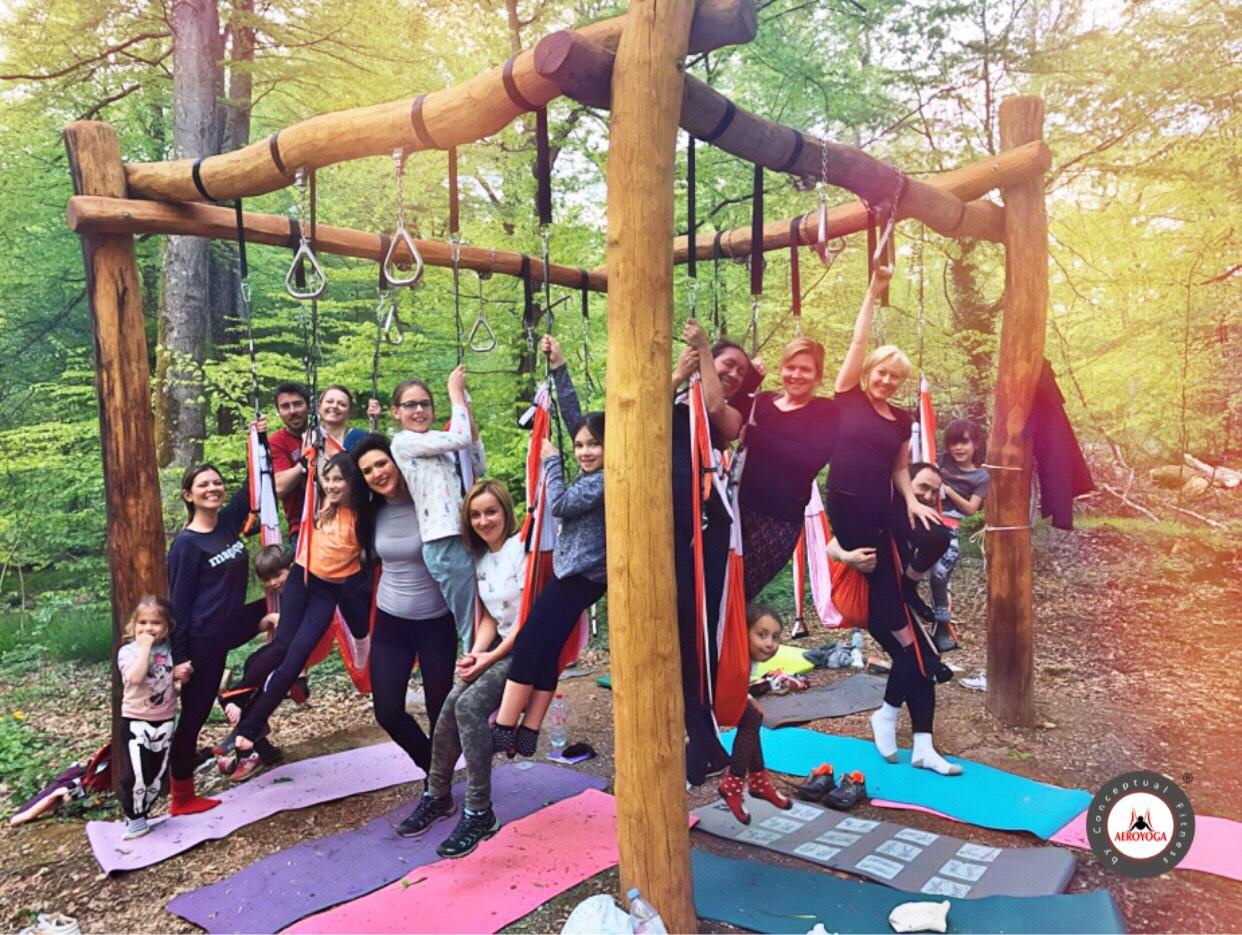 Formación Yoga Aéreo. La Vuelta al Mundo del AeroYoga ®, Hoy en Luxemburgo!