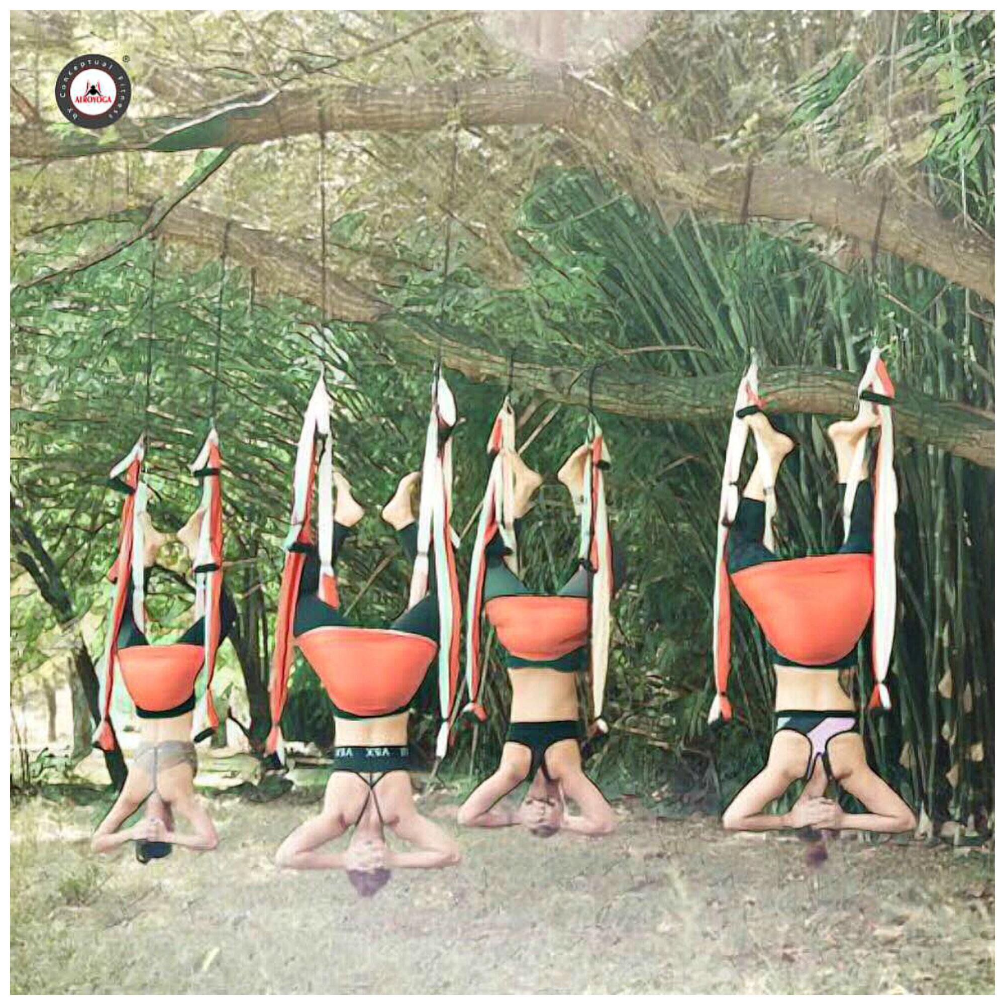 Certificación Yoga Aéreo, El AeroYoga ® Podría Ayudar a Prevenir la Gastritis. Salud, Wellness y Bienestar