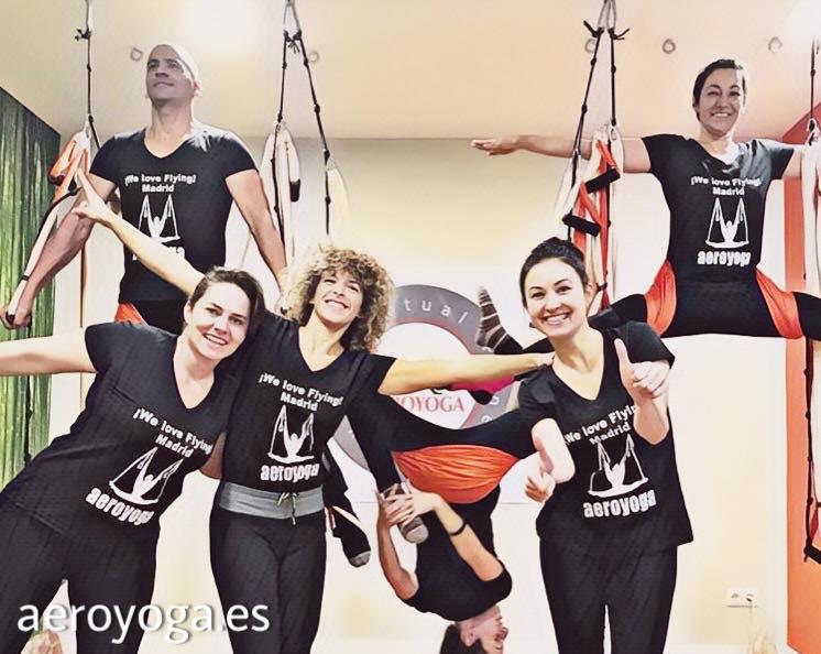 Madrid, Certificación Yoga Aéreo. Súmate a la Próxima Formación Profesores AeroYoga ® y AeroPilates ® Agosto 2019