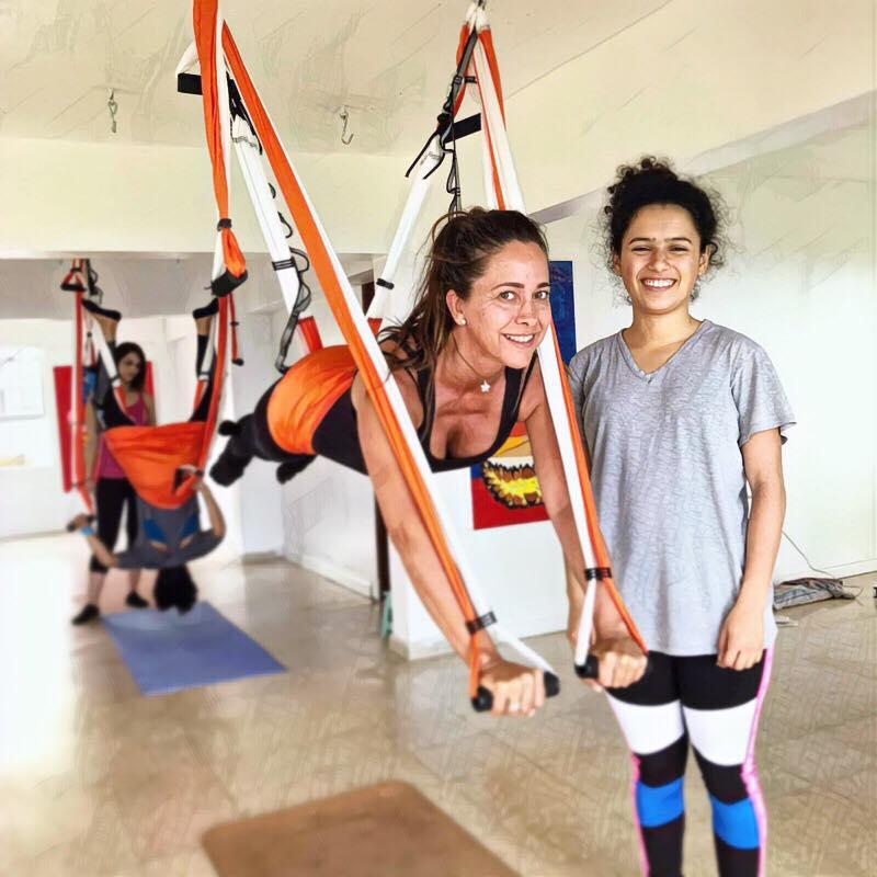 Formación Yoga Aéreo Francia, Agosto 2019 con AeroYoga ® International