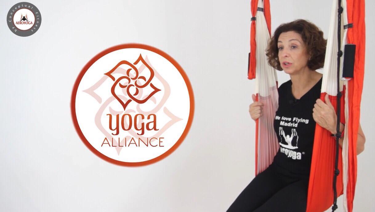 Certificación Yoga Aéreo, El Diploma de Profesor AeroYoga ® Está Acreditado Yoga Alliance, Vídeo Tutorial