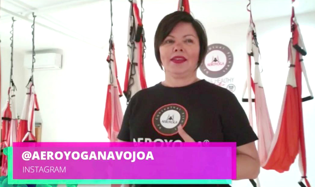 Formación Yoga Aéreo: La Vuelta al Mundo del AeroYoga ®, Descubrimos un Nuevo Studio en México, AirYoga!