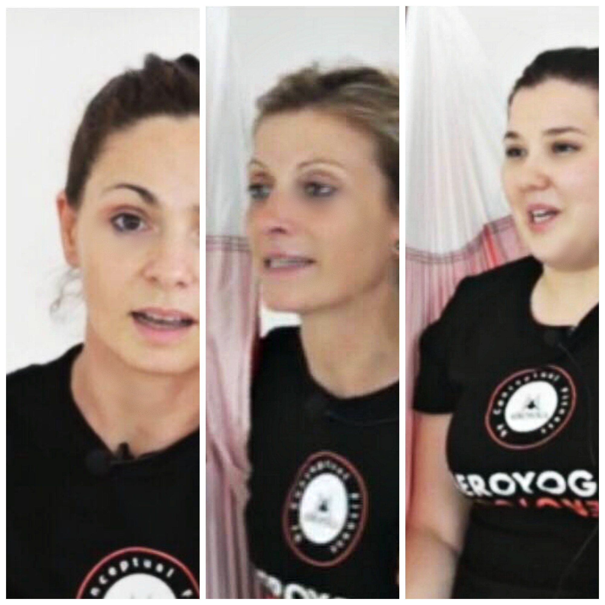 Certificación Yoga Aéreo, Descubre 3 Testimonios de las Alumnas Cursos Formación AeroYoga ® y AeroPilates ® España