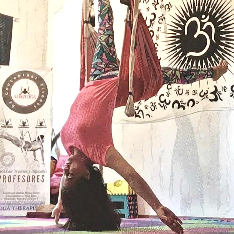 Maestria AeroYoga® CDMX, Agosto 2019, Descubre el Potencial del Yoga Aéreo