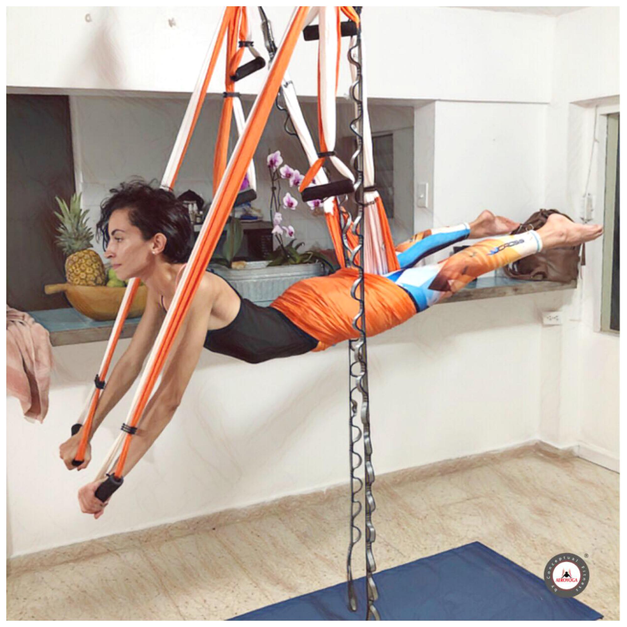 Certificación Yoga Aéreo, Descubre el Nuevo Columpio Oficial AeroYoga ® para el Curso 2019/20
