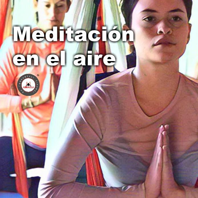 Certificación Yoga Aéreo: El Placer y Los Beneficios de la Meditación Aérea para el Cuerpo y la Mente, Fly!