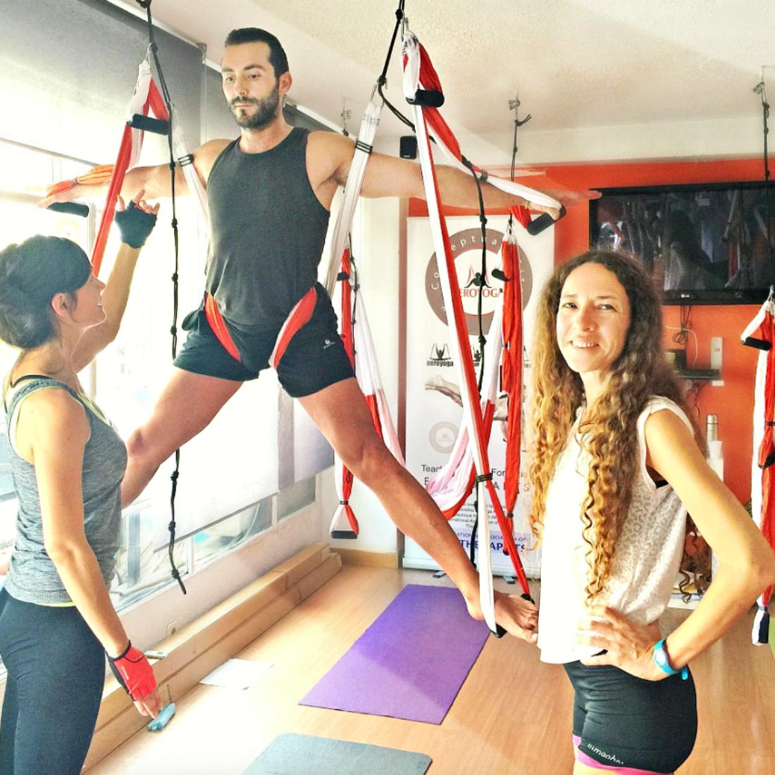AeroYoga®, Qué es el Yoga Aéreo
