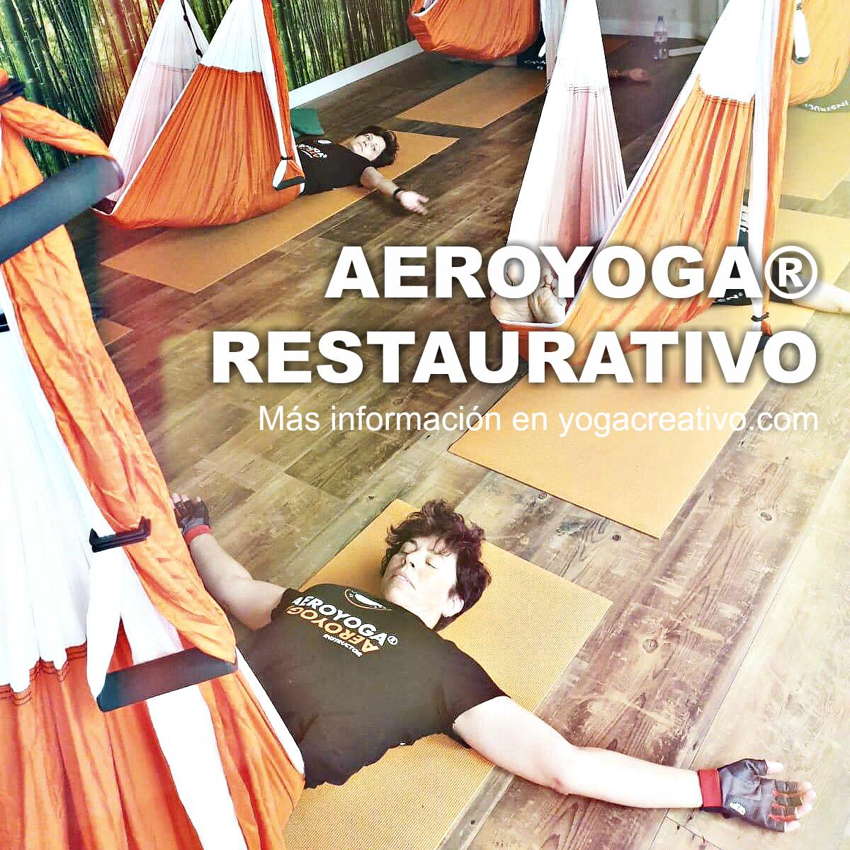 Certificación Yoga Aéreo, Descubre los Beneficios Salud, Cuerpo y Mente del Método AeroYoga ® Restaurativo, AirYoga, Fly!
