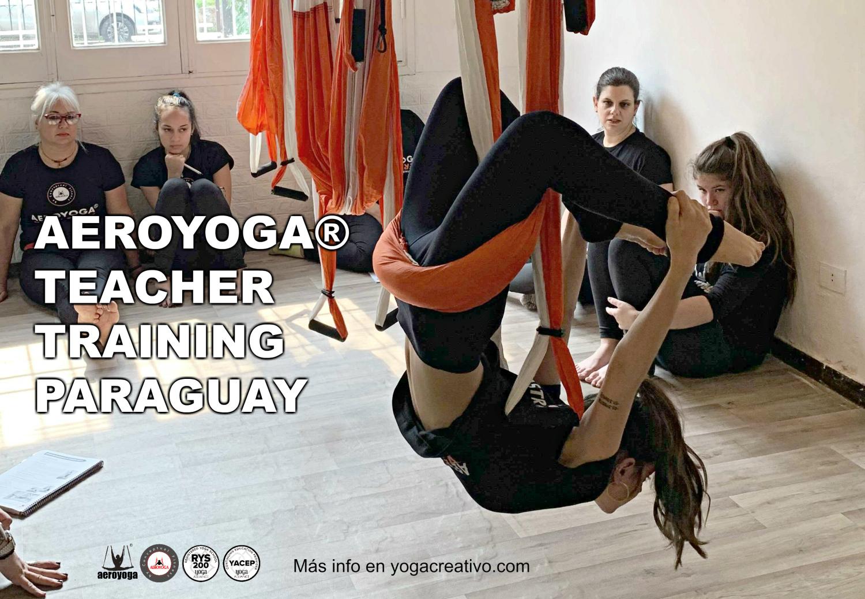 Air Yoga, Continúa esta Semana Nueva Certificación Aérea con AeroYoga ® en Latino América