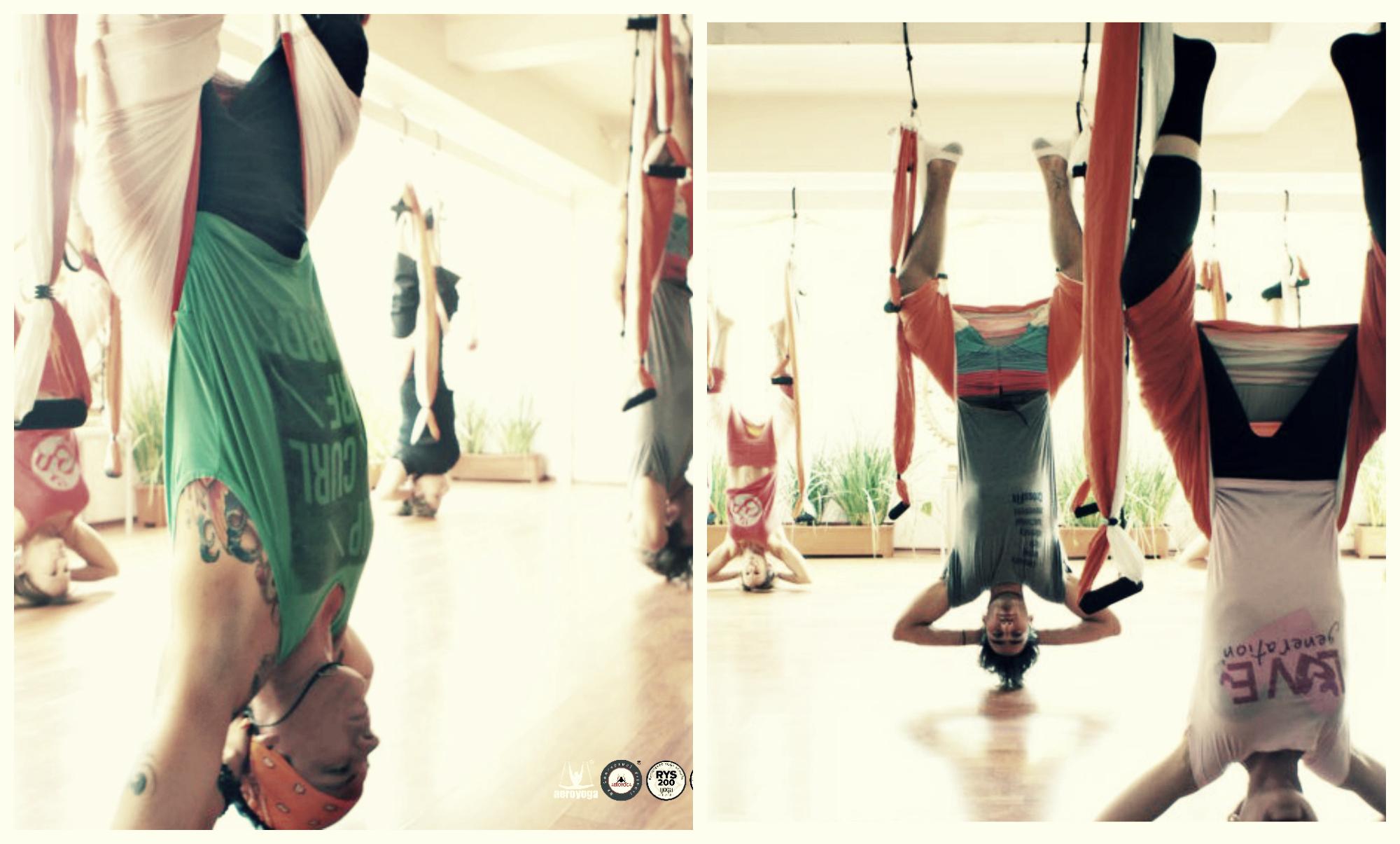 Formación Yoga Aéreo México CDMX, Nueva Formación, También Disponible Online