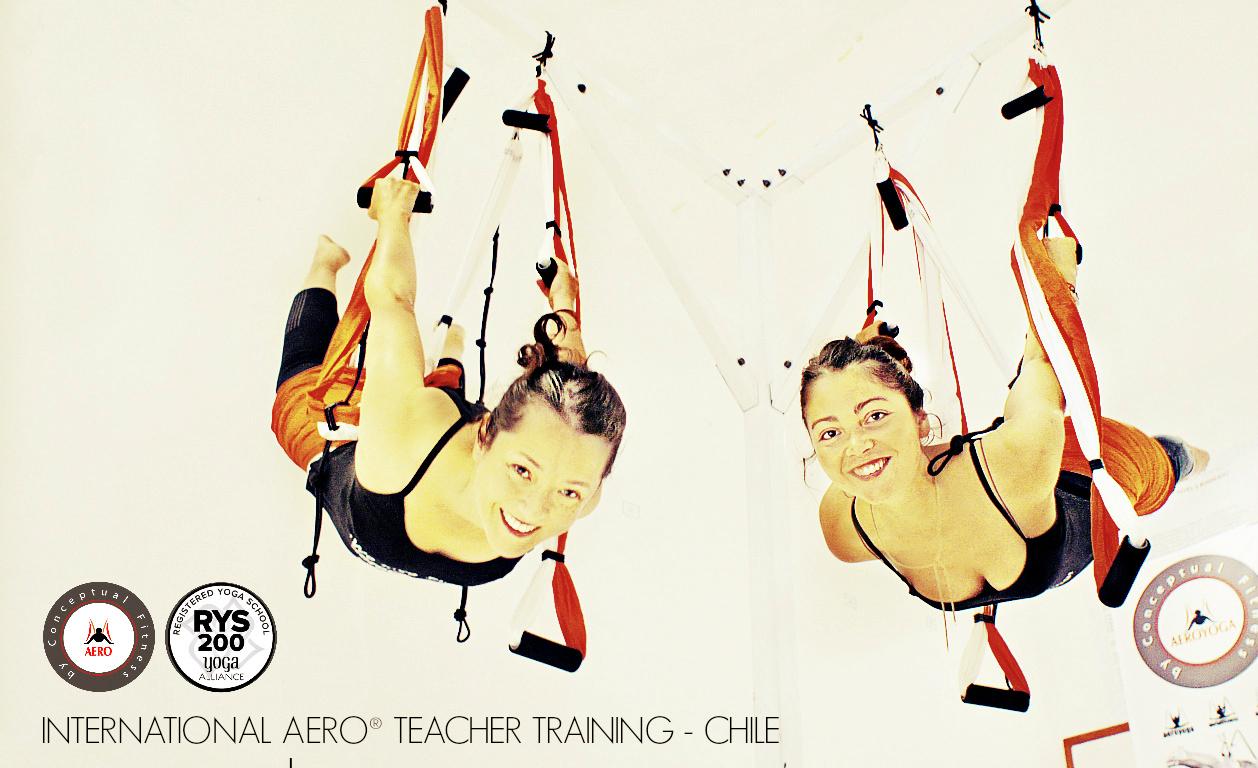 Formación Yoga Aéreo Chile con Aero® ( Aero Yoga Institute, Acreditación Yoga Alliance USA)