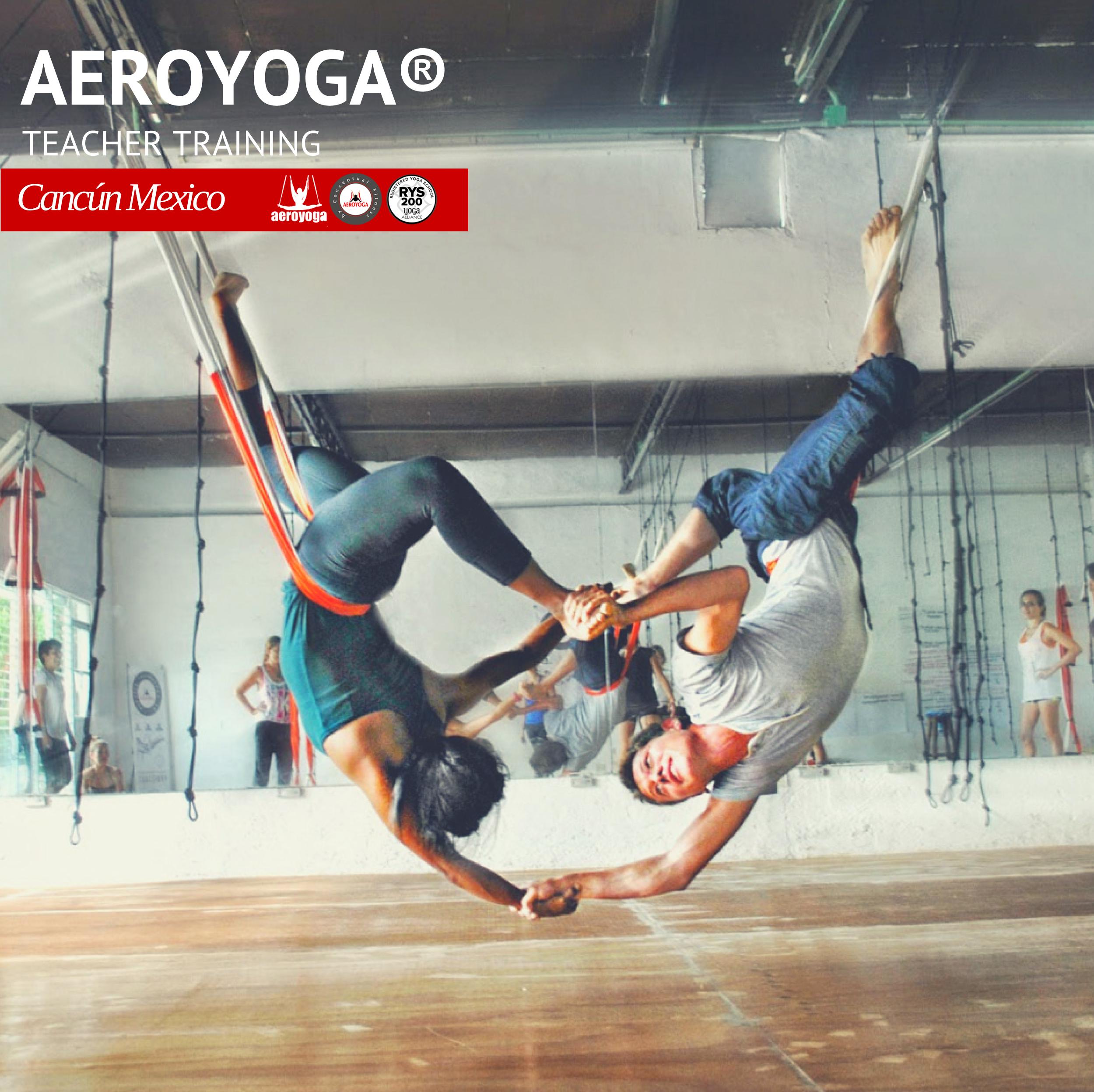 Yoga Aéreo Acrobático, Ejercicio AeroYoga ®