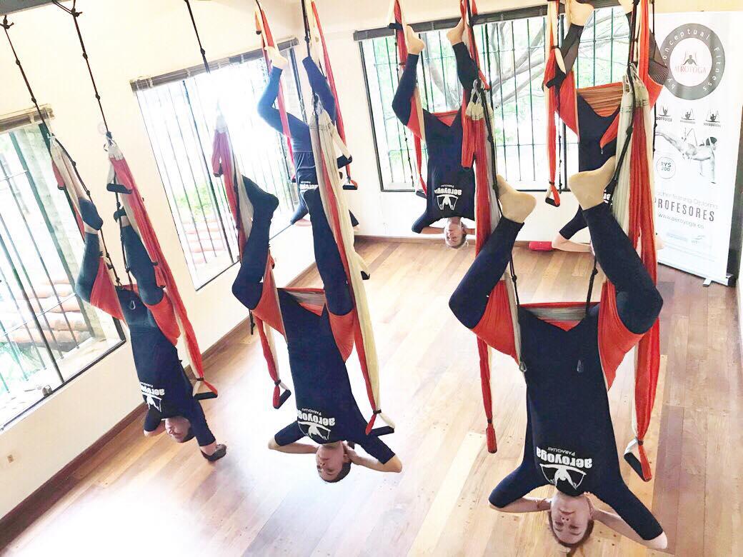 Yoga Aéreo Donosti, Formación Profesores con AeroYoga®, Certificación Internacional