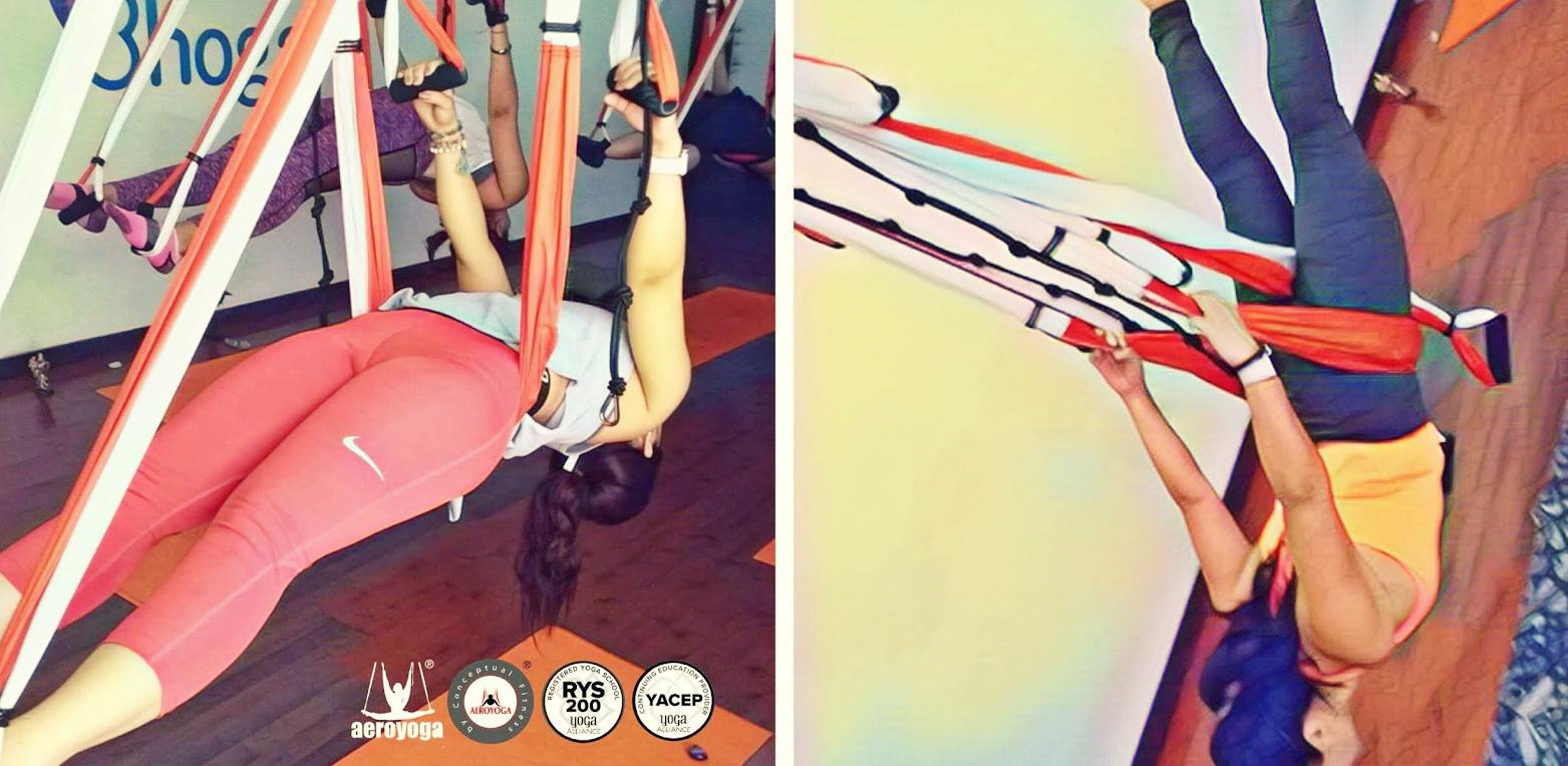 Formación Yoga Aéreo en Norte de México, con AeroYoga ® Institute