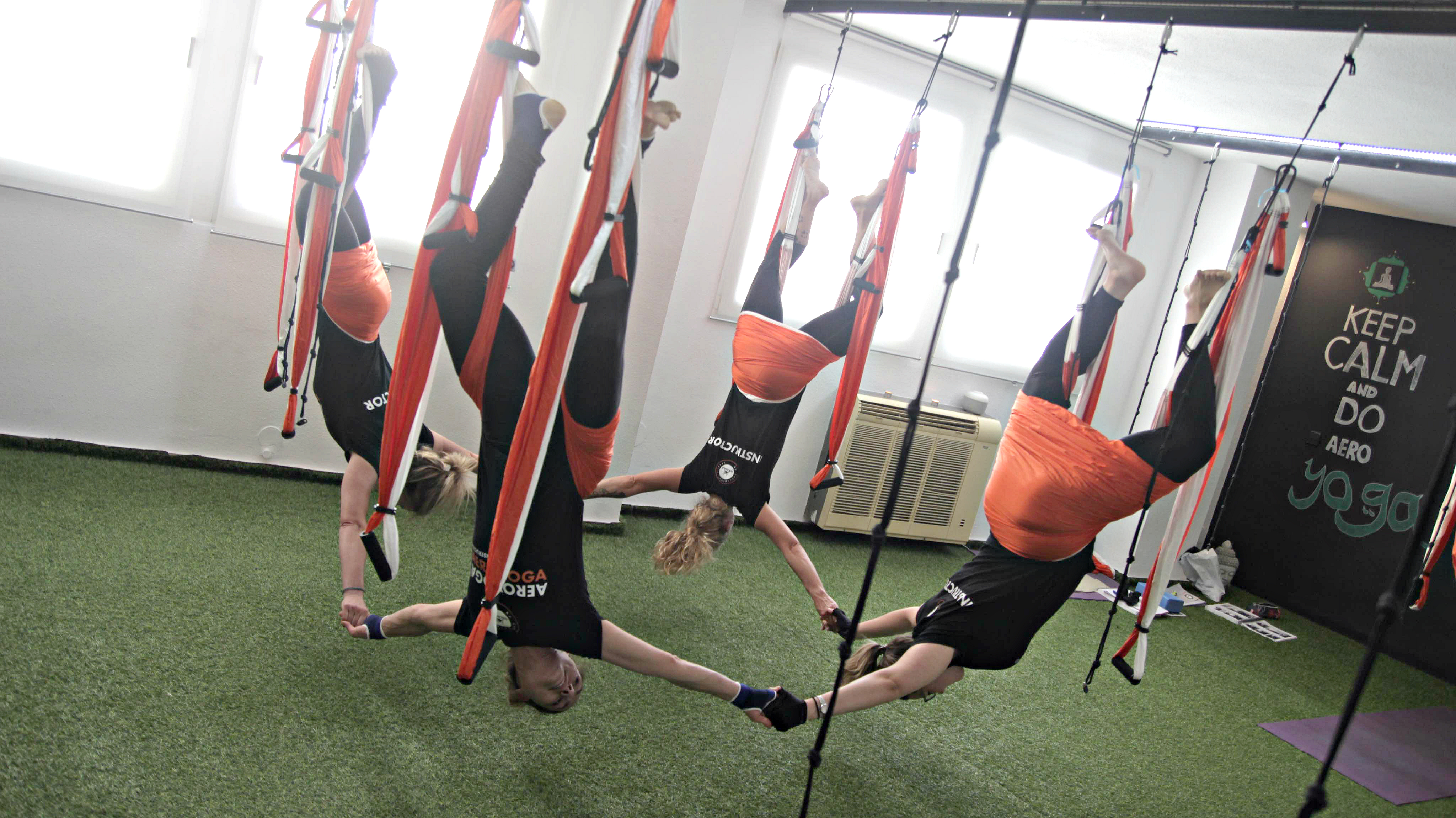 Formación AeroPilates®, Curso Pilates Aéreo en Valencia, España