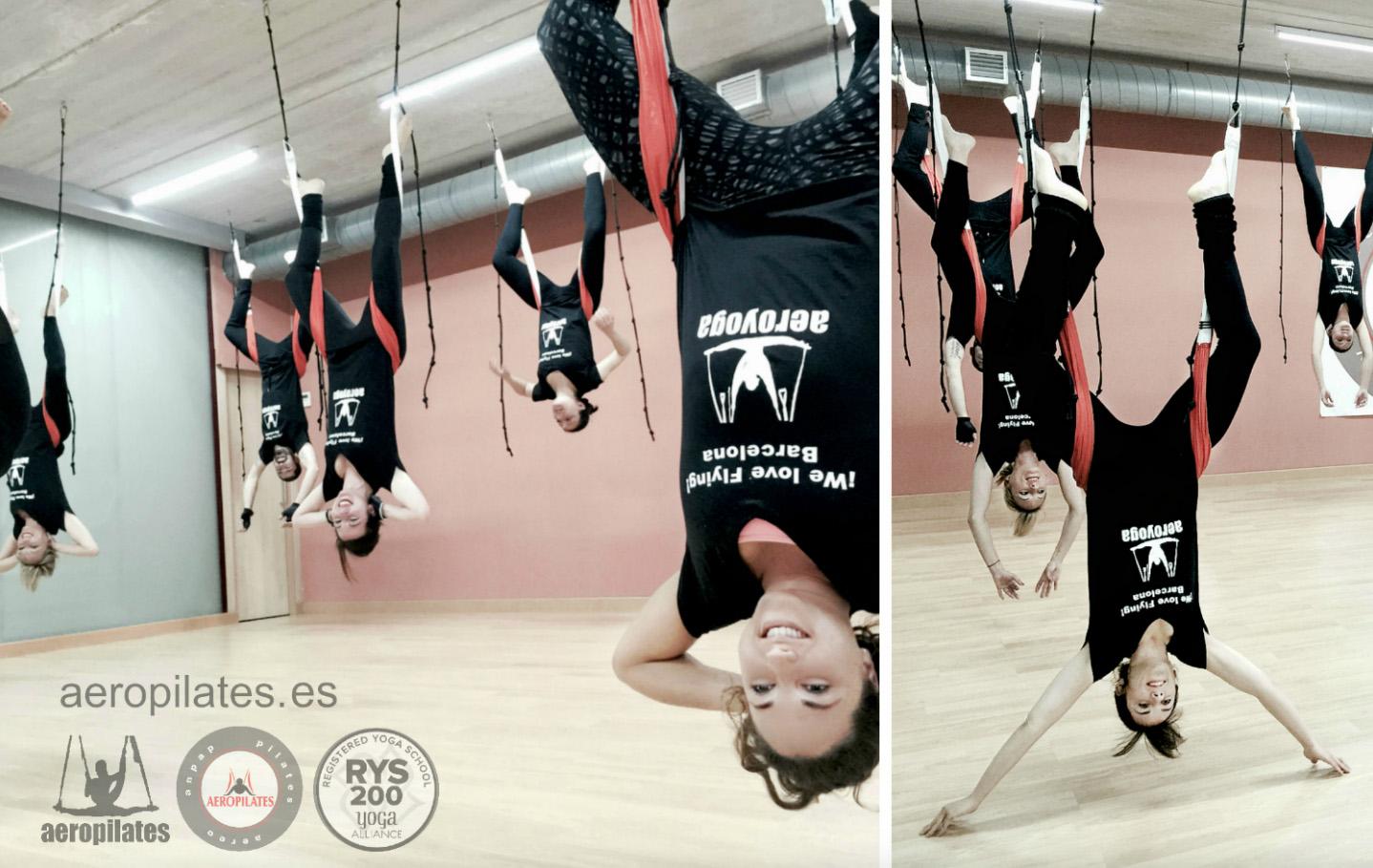 Beneficios del Pilates Aéreo, Nuevo Curso Formación AeroPilates ® en Madrid.