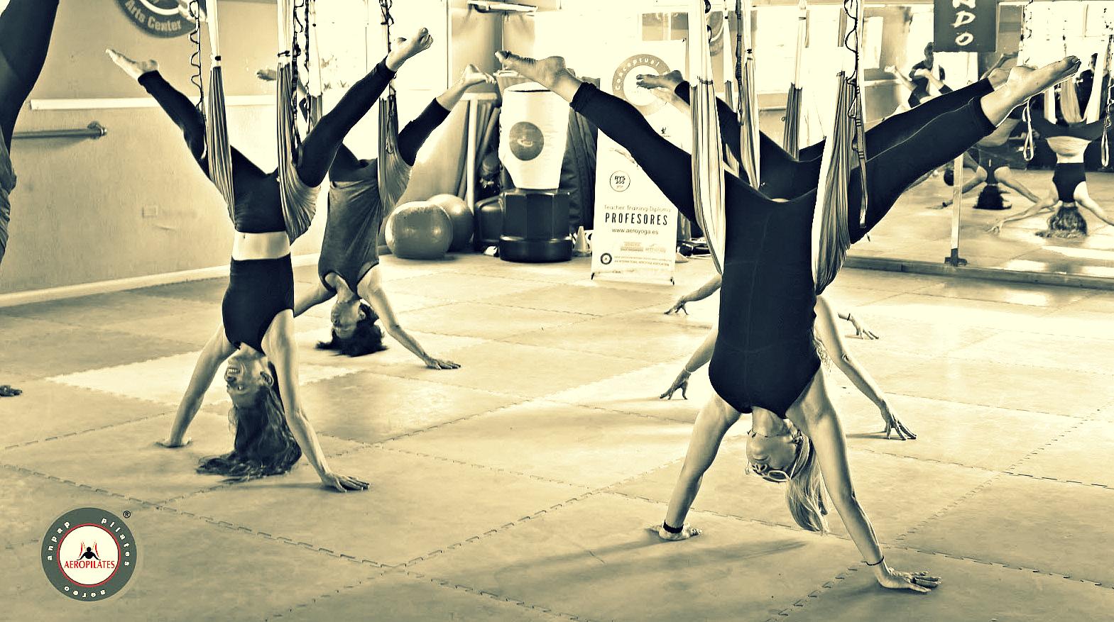 Qué es Pilates Aéreo, Formación Profesores AeroPilates® International, Flypilates