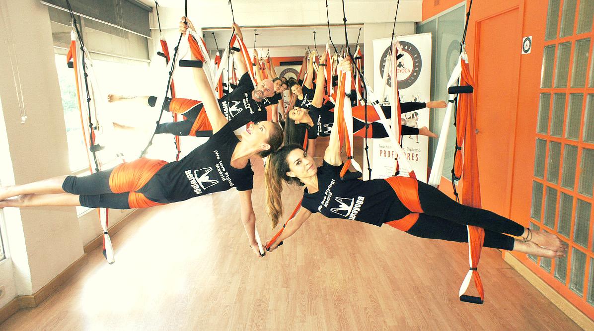 Yoga Aéreo España, Mira la Agenda Cursos 2019/20 con AeroYoga ®, AeroPilates ® y Aerial Fitness ®