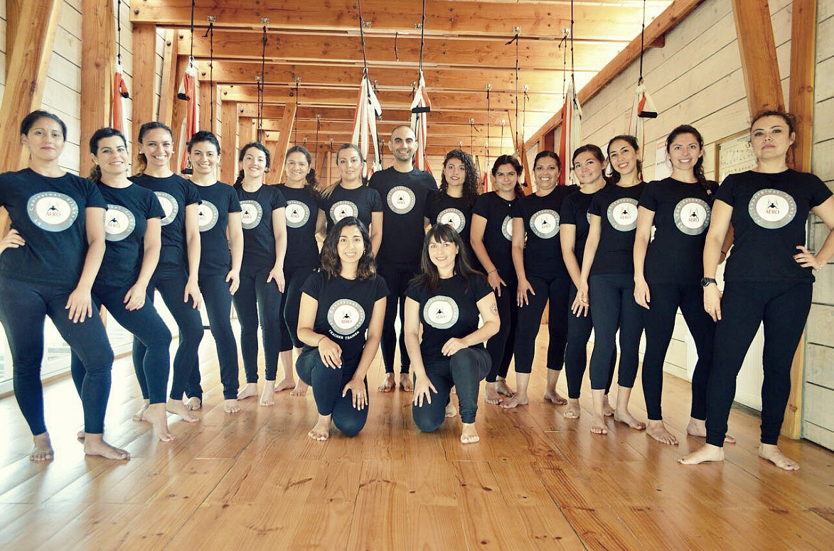 Formación Profesores Aero ® Yoga Aéreo Chile