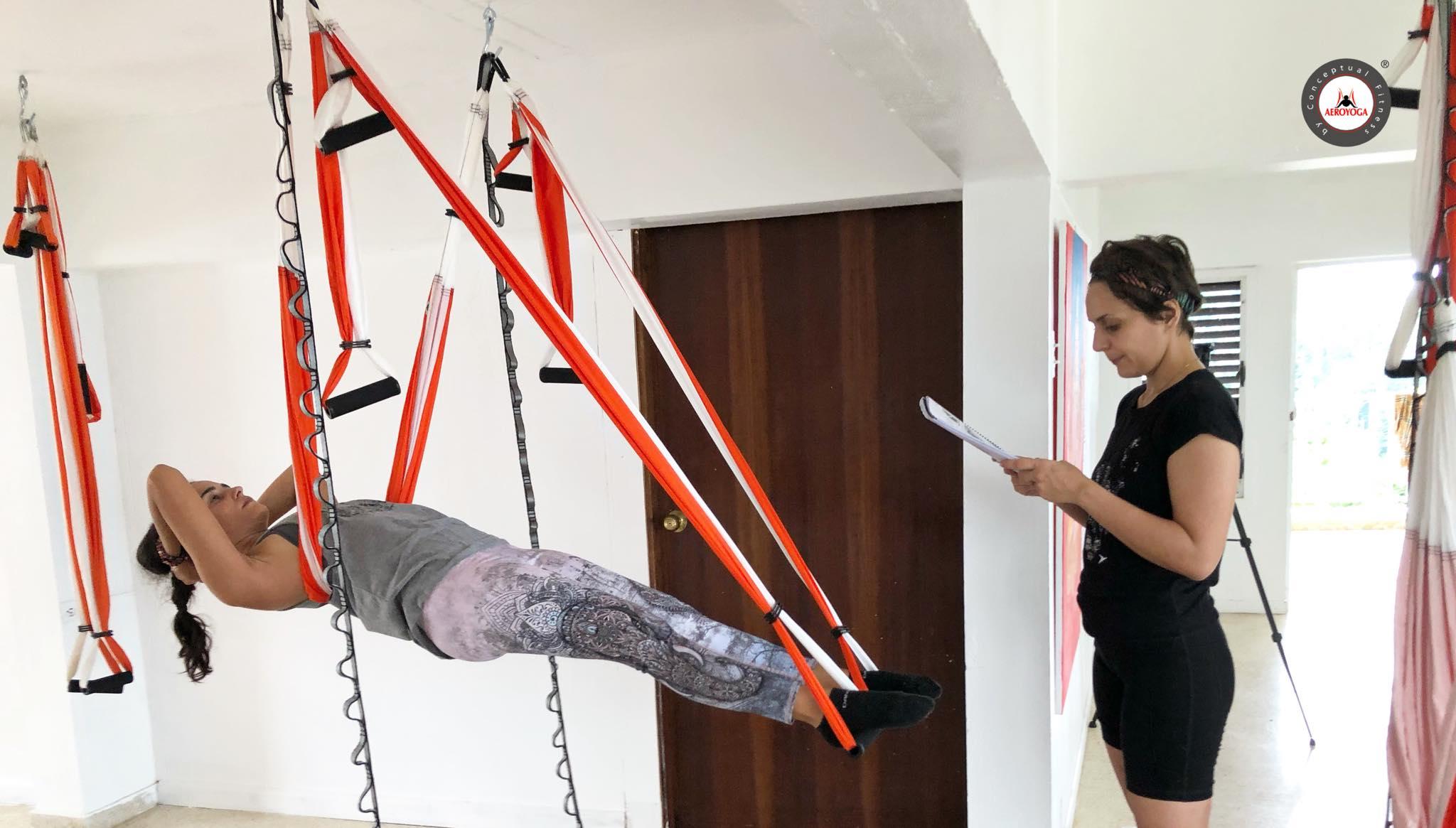 Formación Yoga Aéreo con AeroYoga® International , Pilates Aéreo y Fitness Aéreo