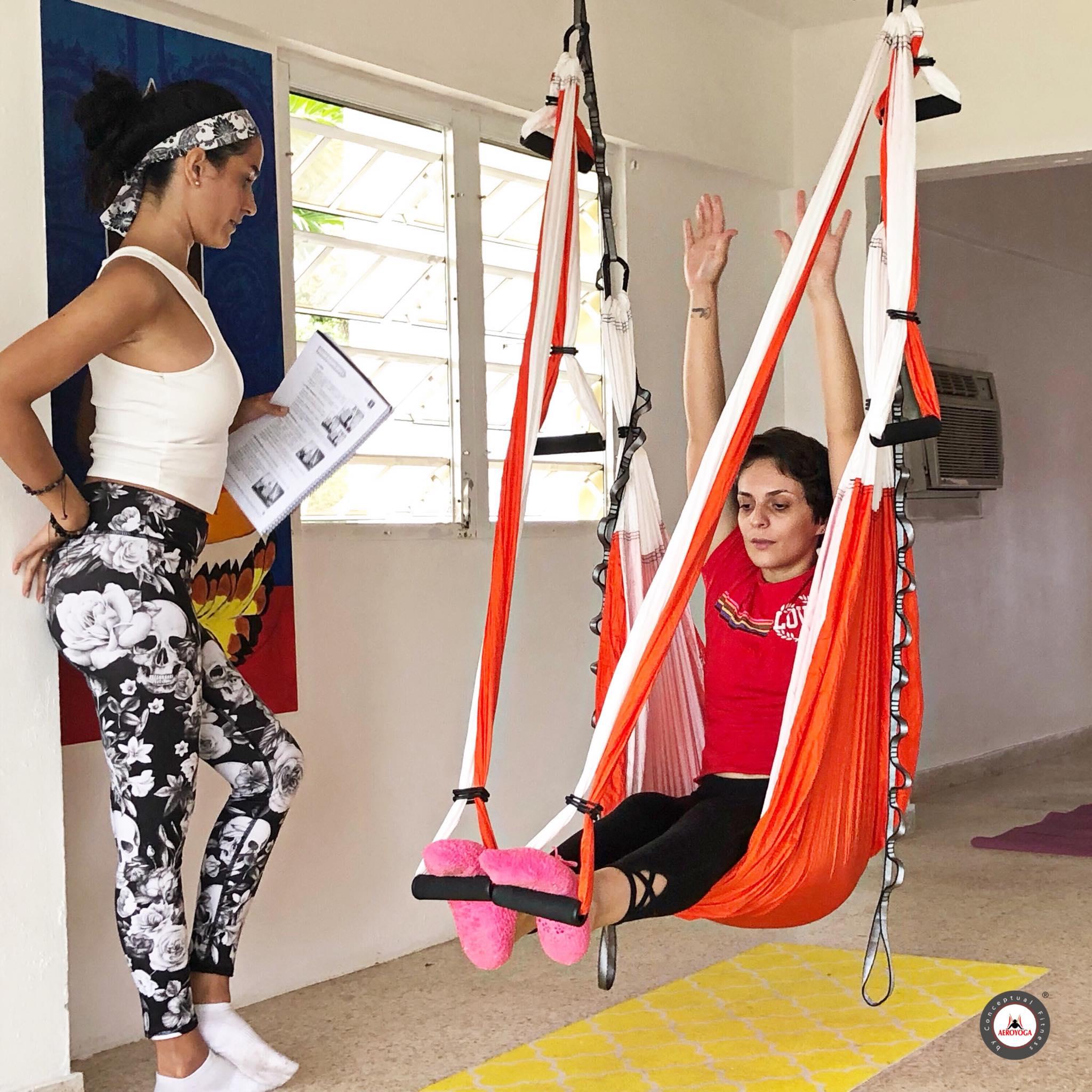 Curso Profesores Yoga Aéreo en Puerto Rico, con AeroYoga®, Air Yoga!